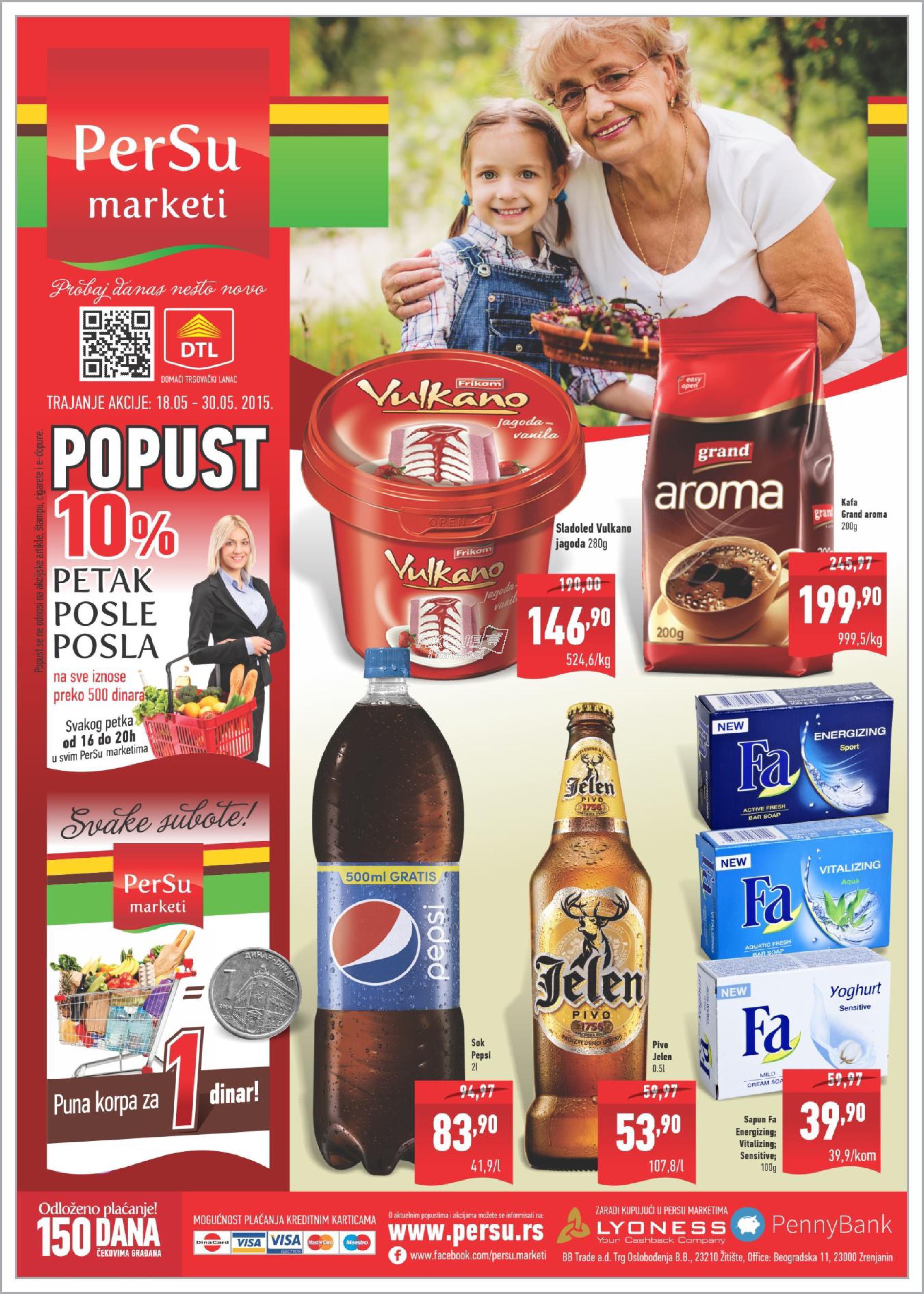 Persu - Redovna akcija sjajne ponude za vas