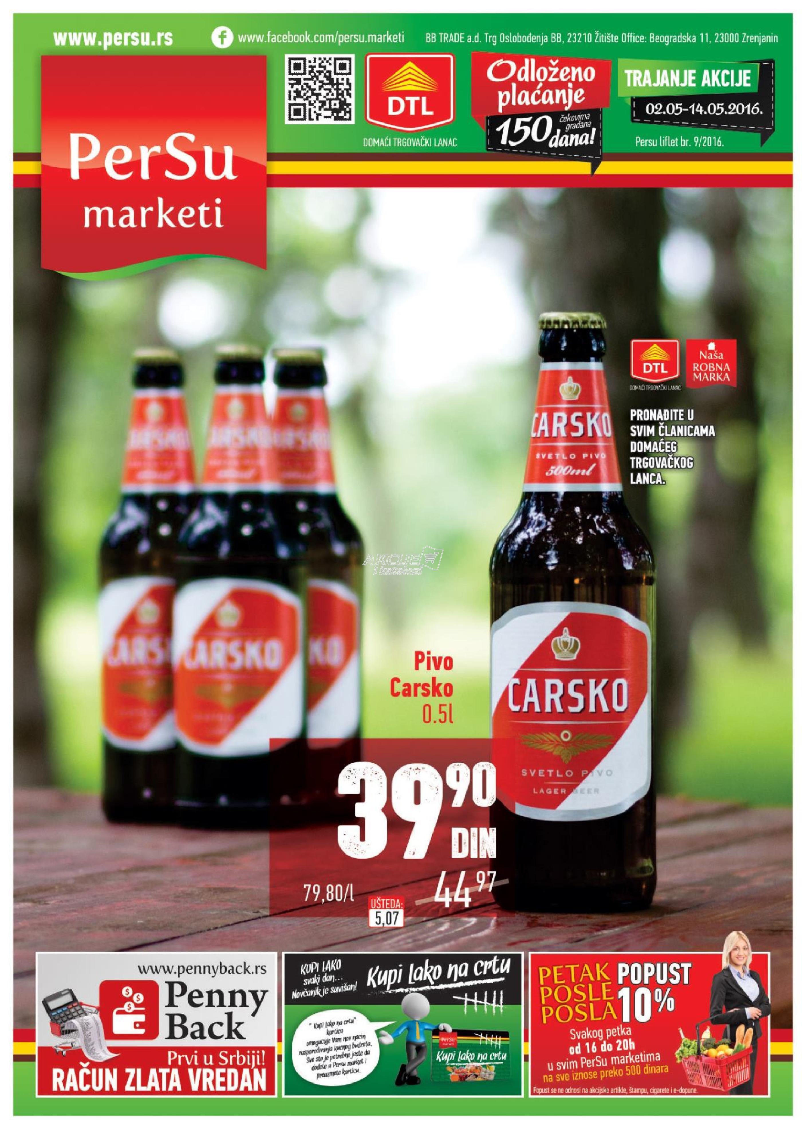 Persu - Redovna akcija super cena