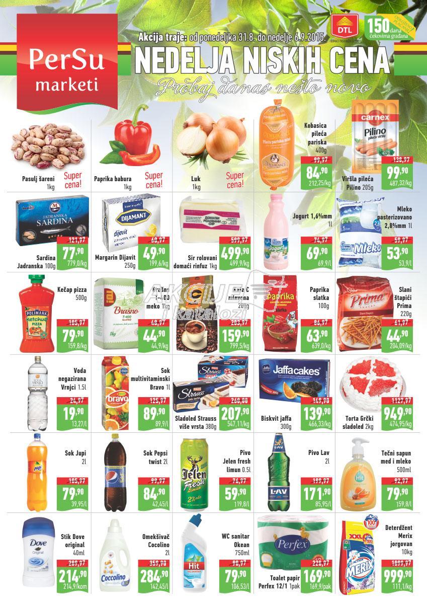 Persu - Redovna akcija super kupovine