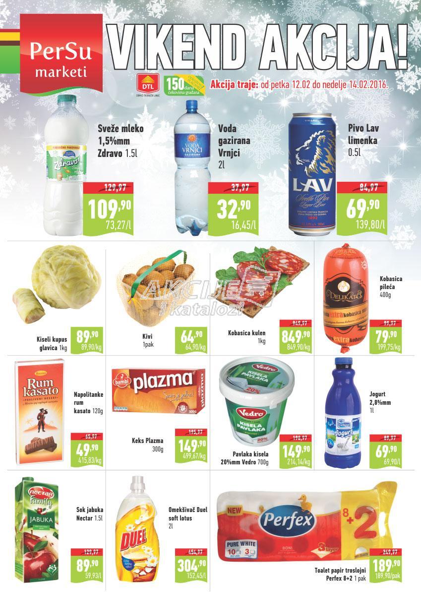 Persu akcija vikend sjajne kupovine
