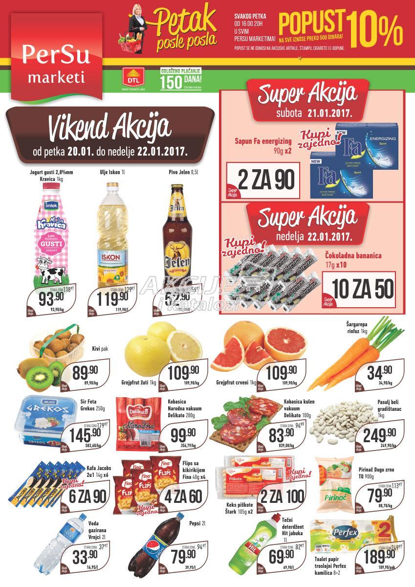 Persu - Vikend akcija super cena