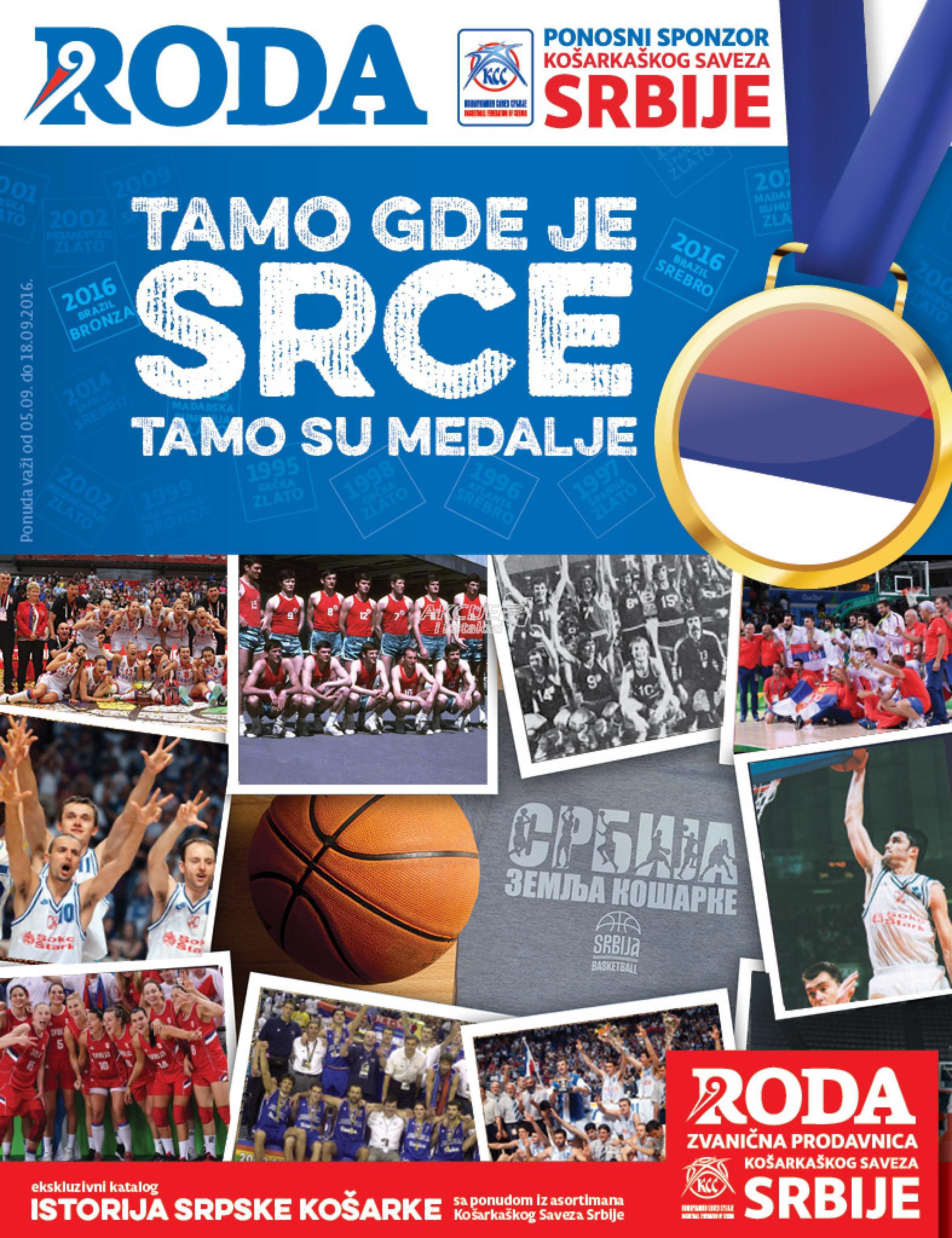 Roda - Redovna akcija istorija košarke
