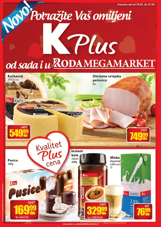 Roda - Redovna akcija K plus proizvoda