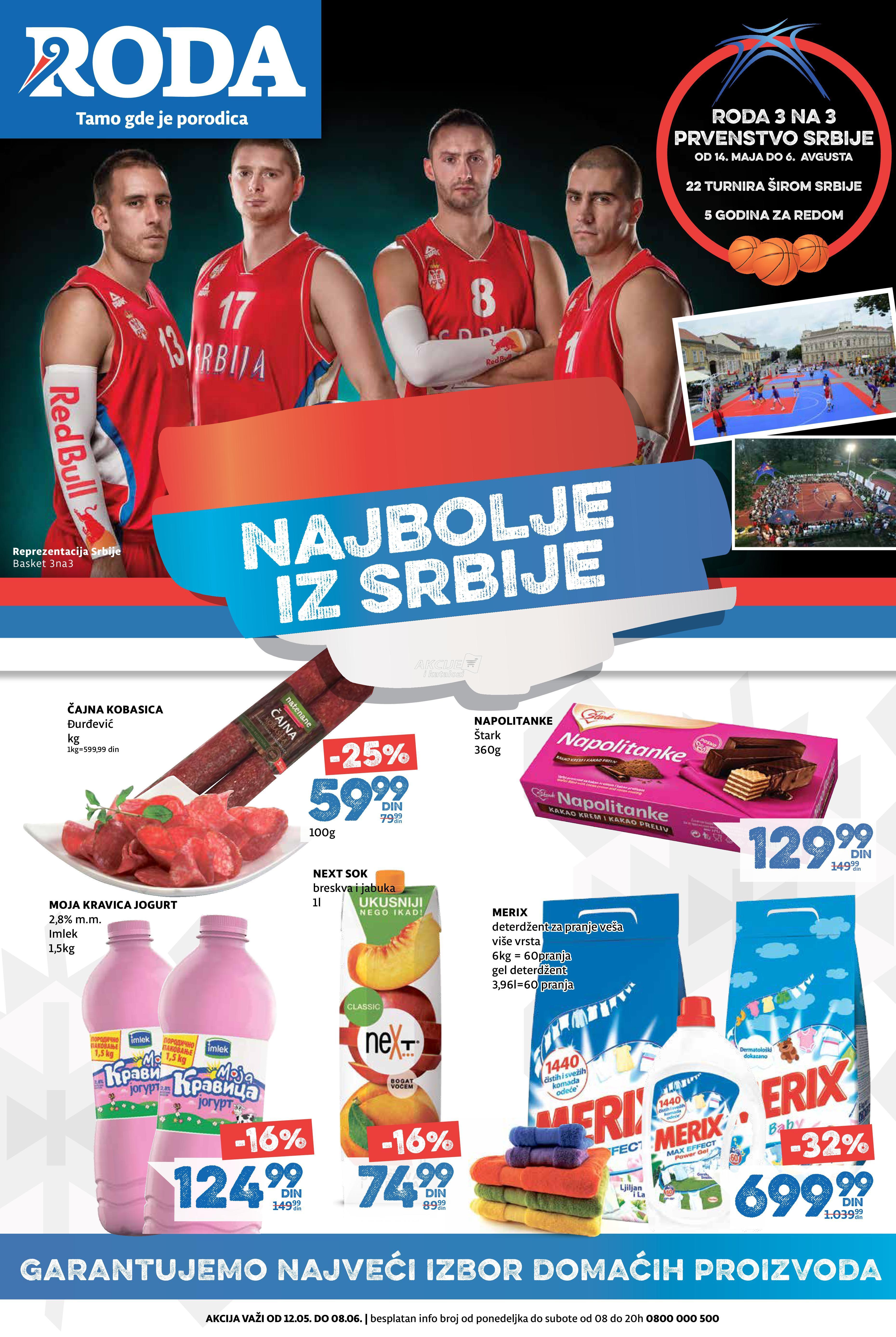 Roda - Redovna akcija najbolje iz Srbije