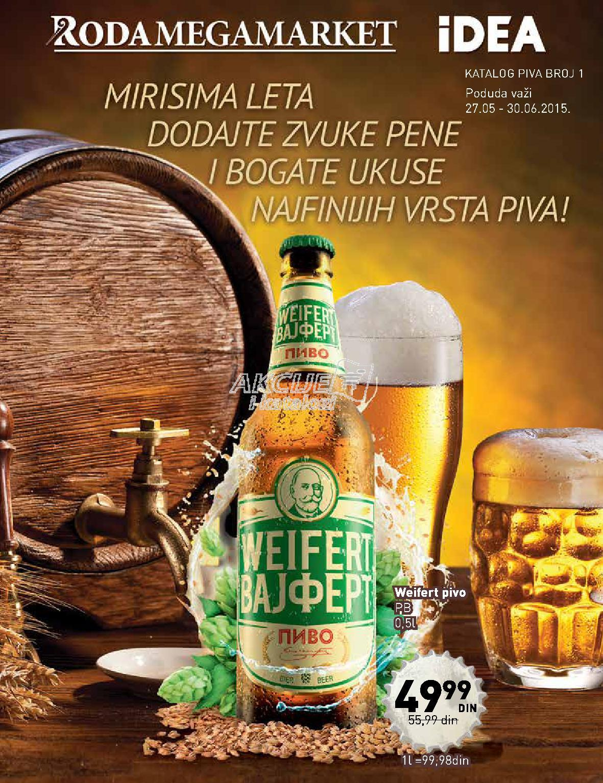 Roda - Redovna akcija ponuda piva