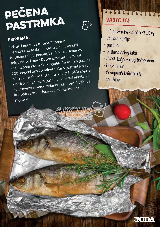 Roda - Redovna akcija recepti za pripremanje ribe