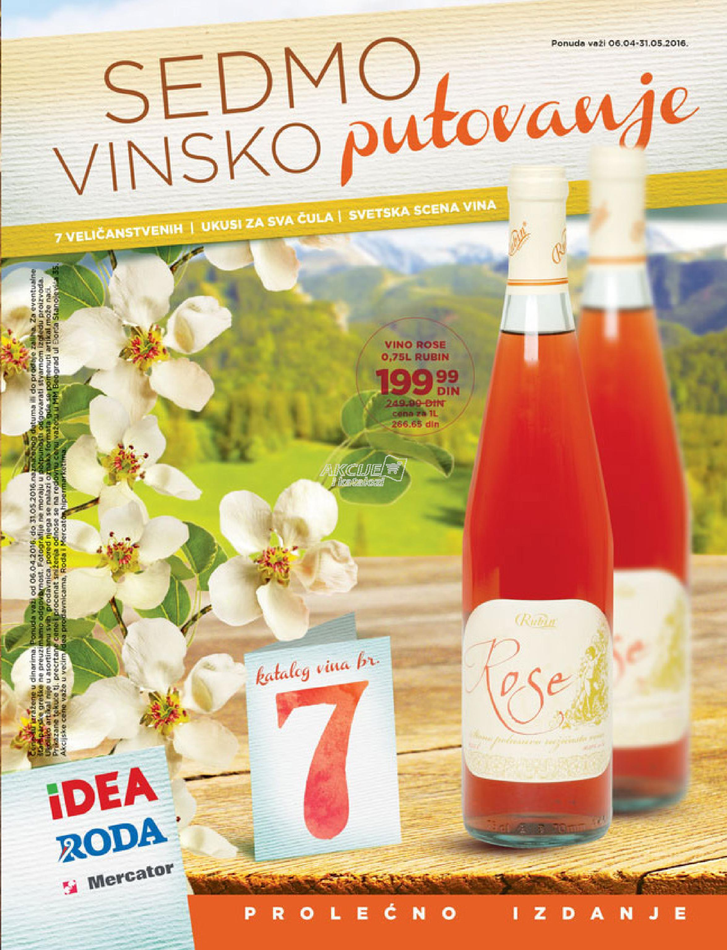 Roda - Redovna akcija specijal vina