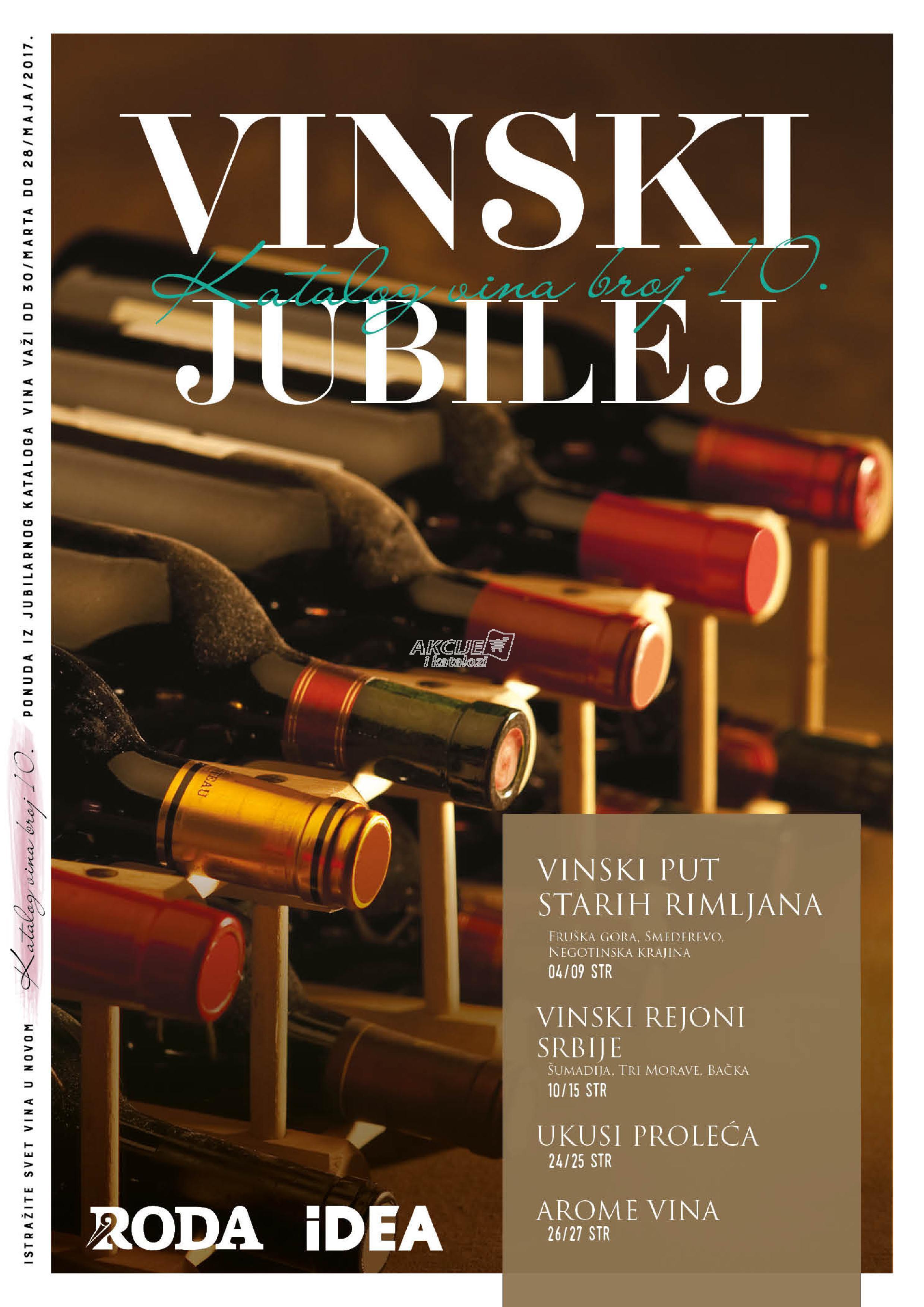 Roda - Redovna akcija super cene vina