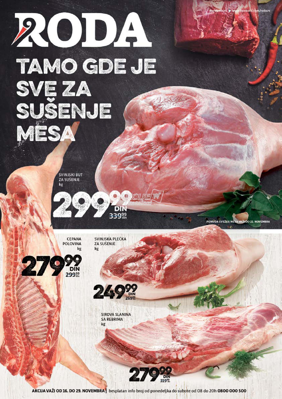Roda - Redovna akcija sušenje mesa