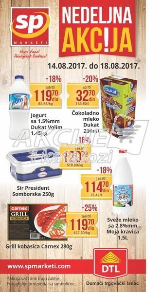 Senta Promet - Redovna akcija nedeljne kupovine