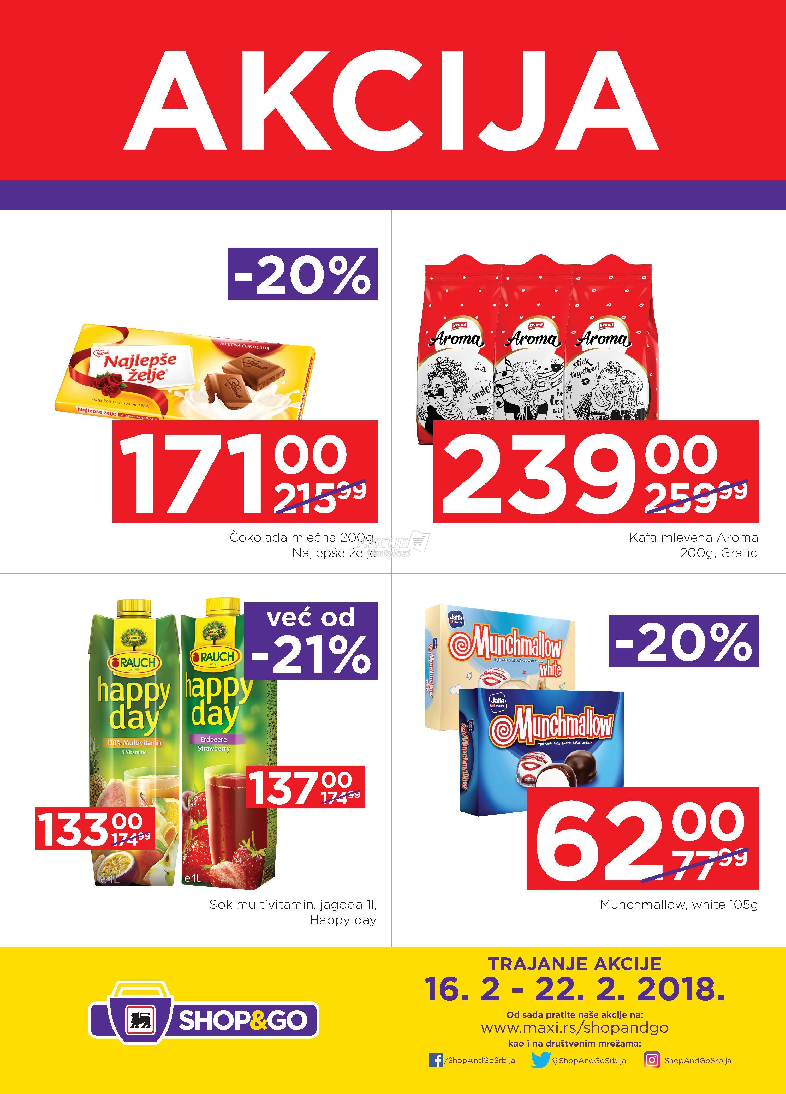 Shop&go - Redovna akcija super cena