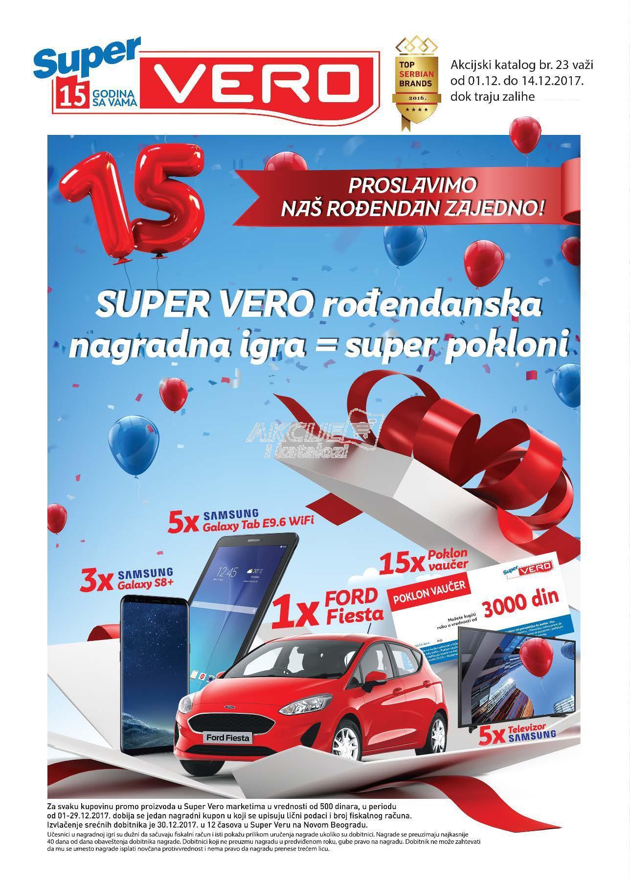 Super Vero - Redovna akcija odlične kupovine