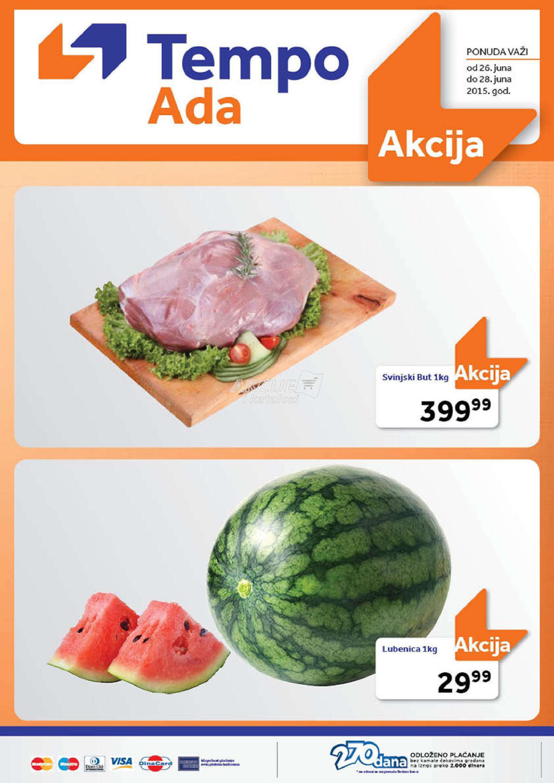 Tempo Ada - Redovna akcija super kupovina