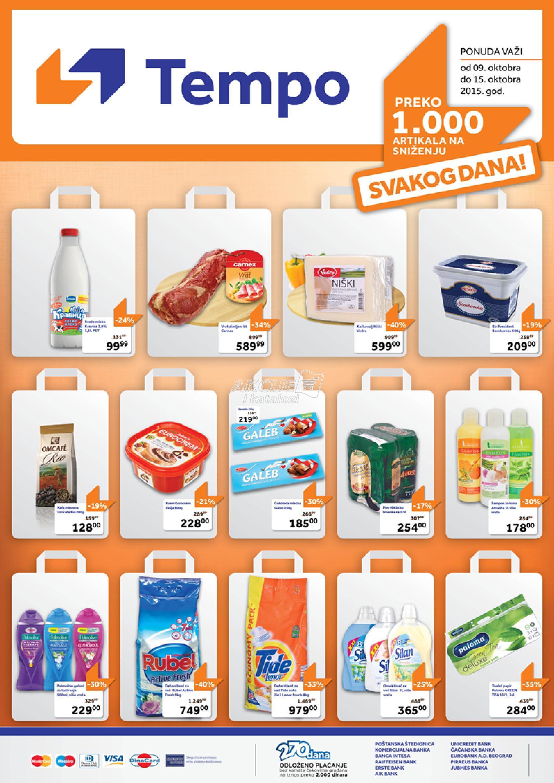 Tempo - Redovna akcija nedeljna kupovina