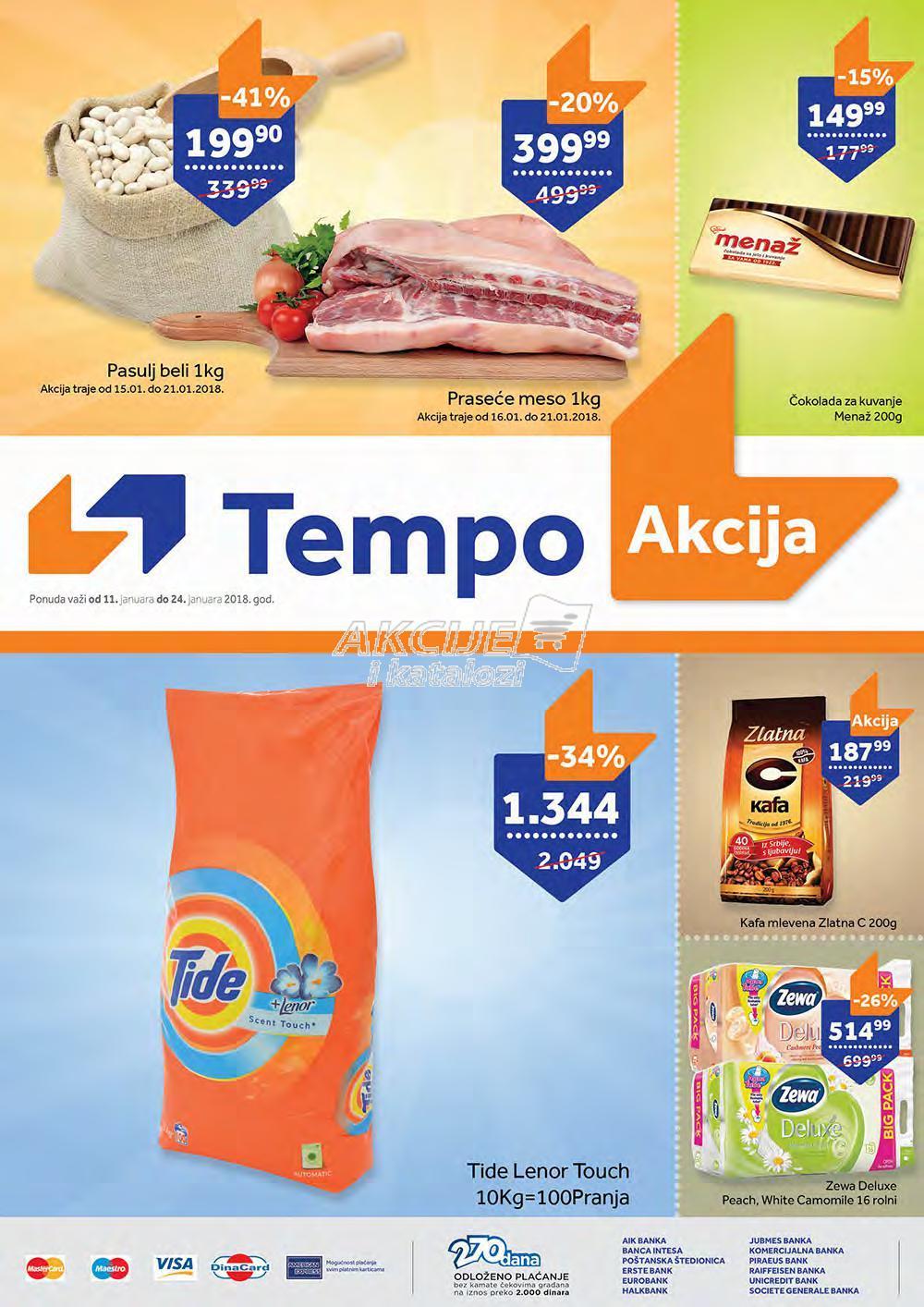 Tempo - Redovna akcija odlične kupovine