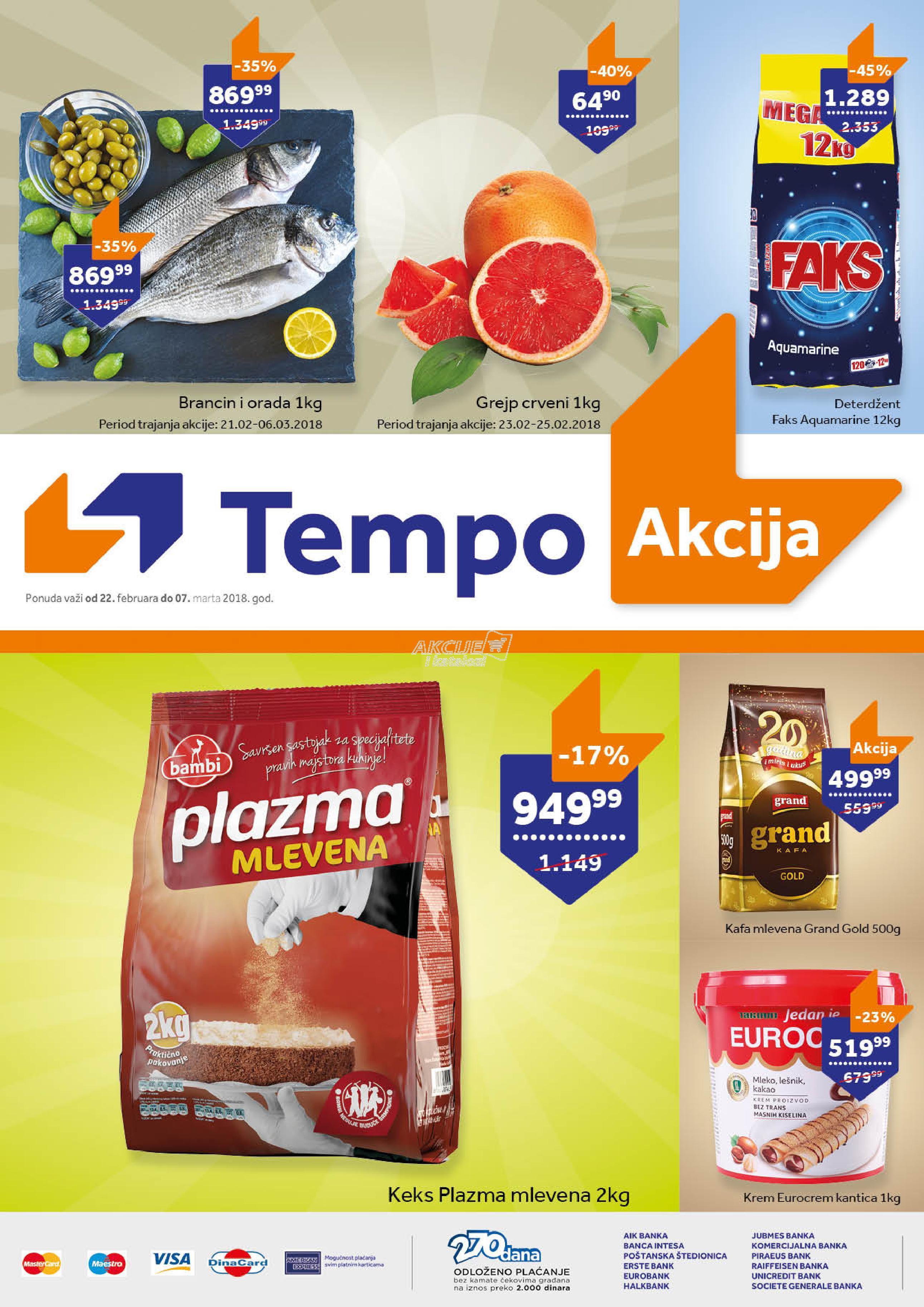 Tempo - Redovna akcija super cena