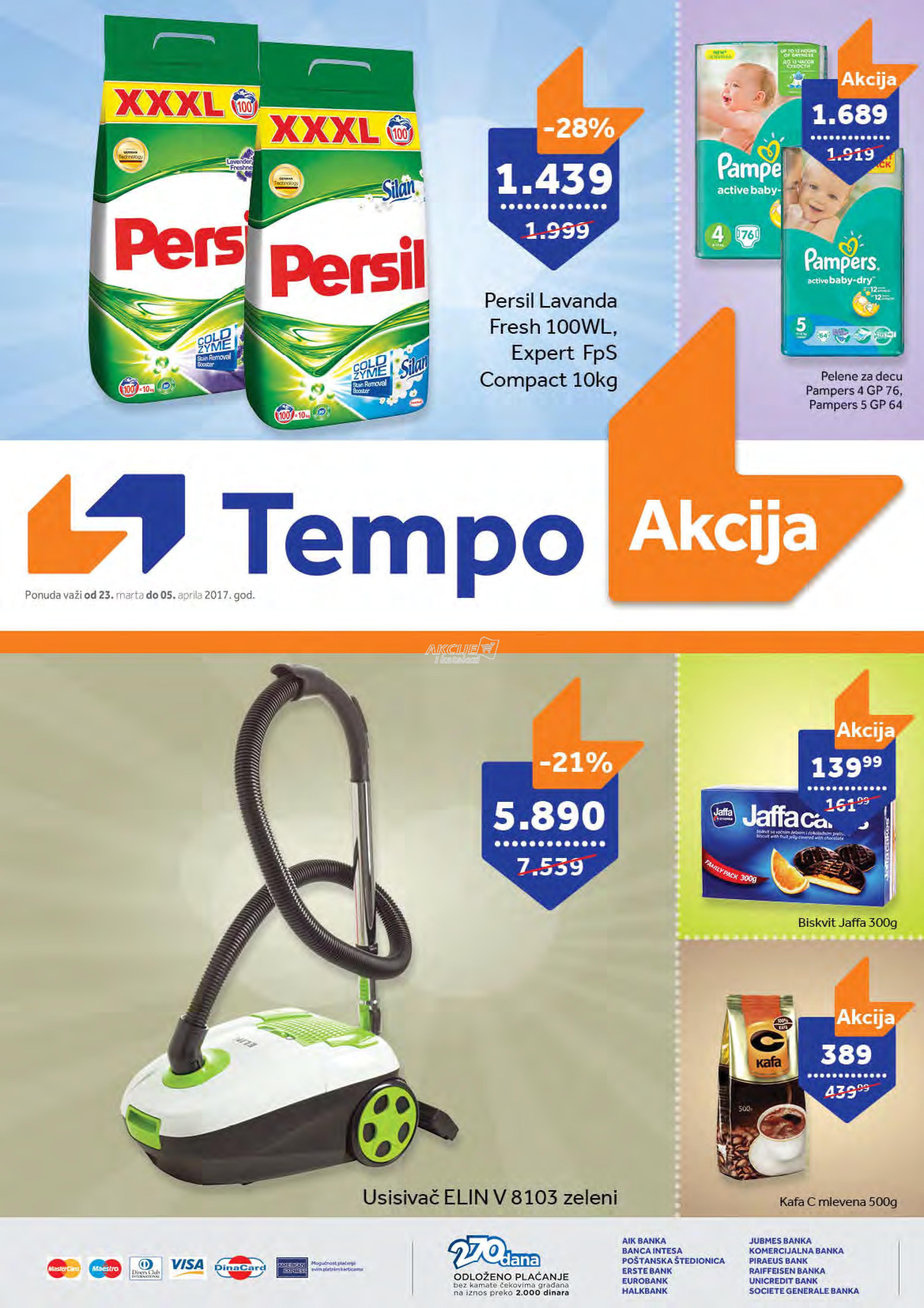 Tempo - Redovna akcija super kupovine