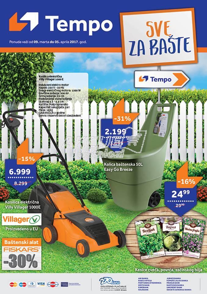 Tempo - Redovna akcija sve za baštu