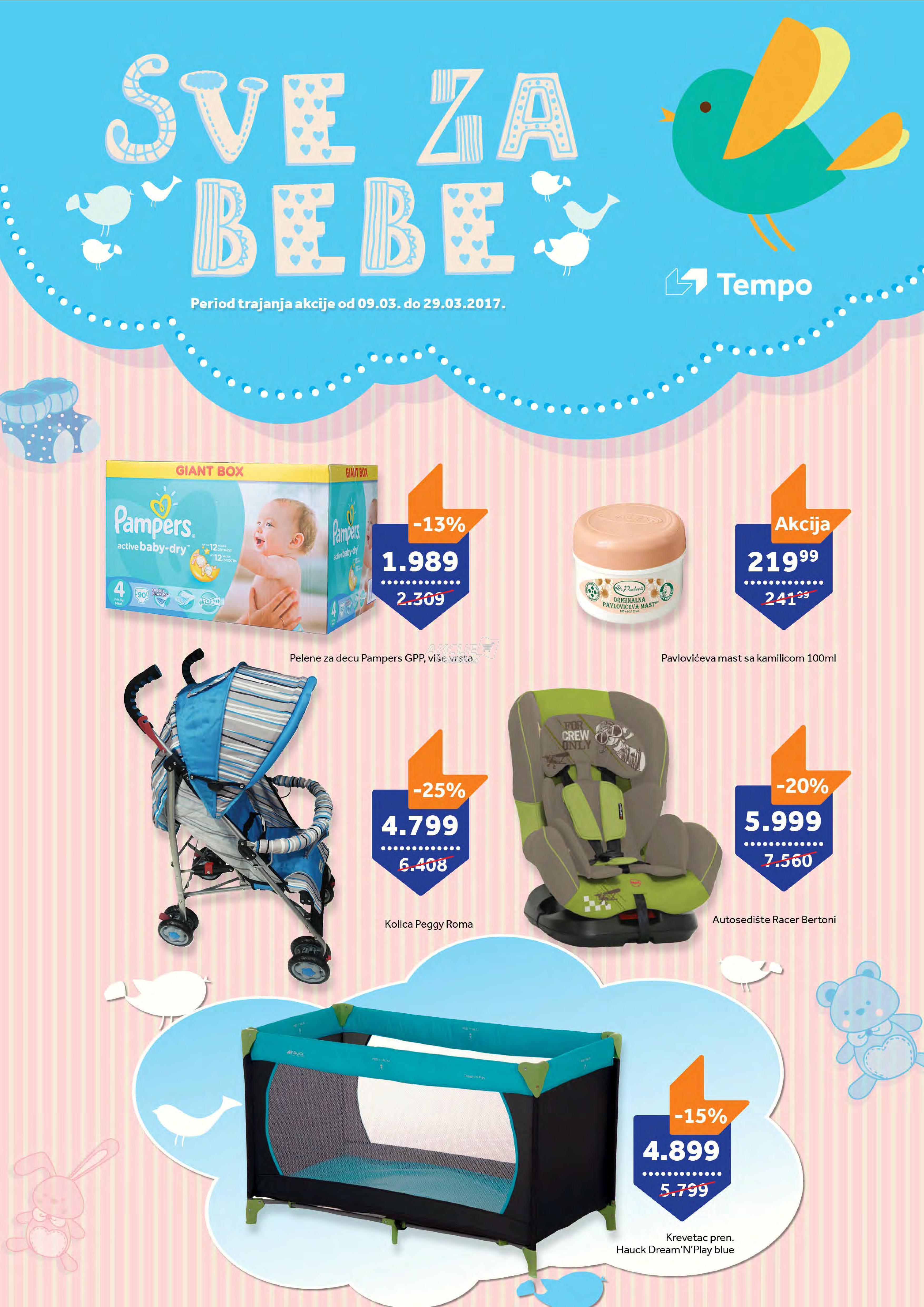 Tempo - Redovna akcija sve za bebe