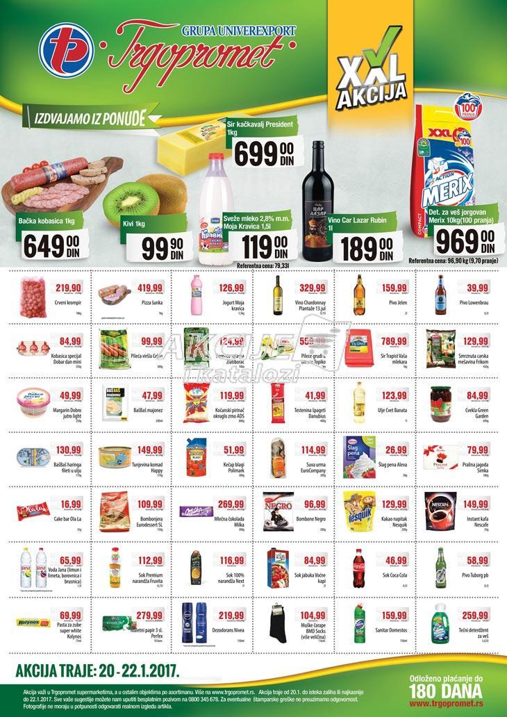 Trgopromet - Vikend akcija super cena