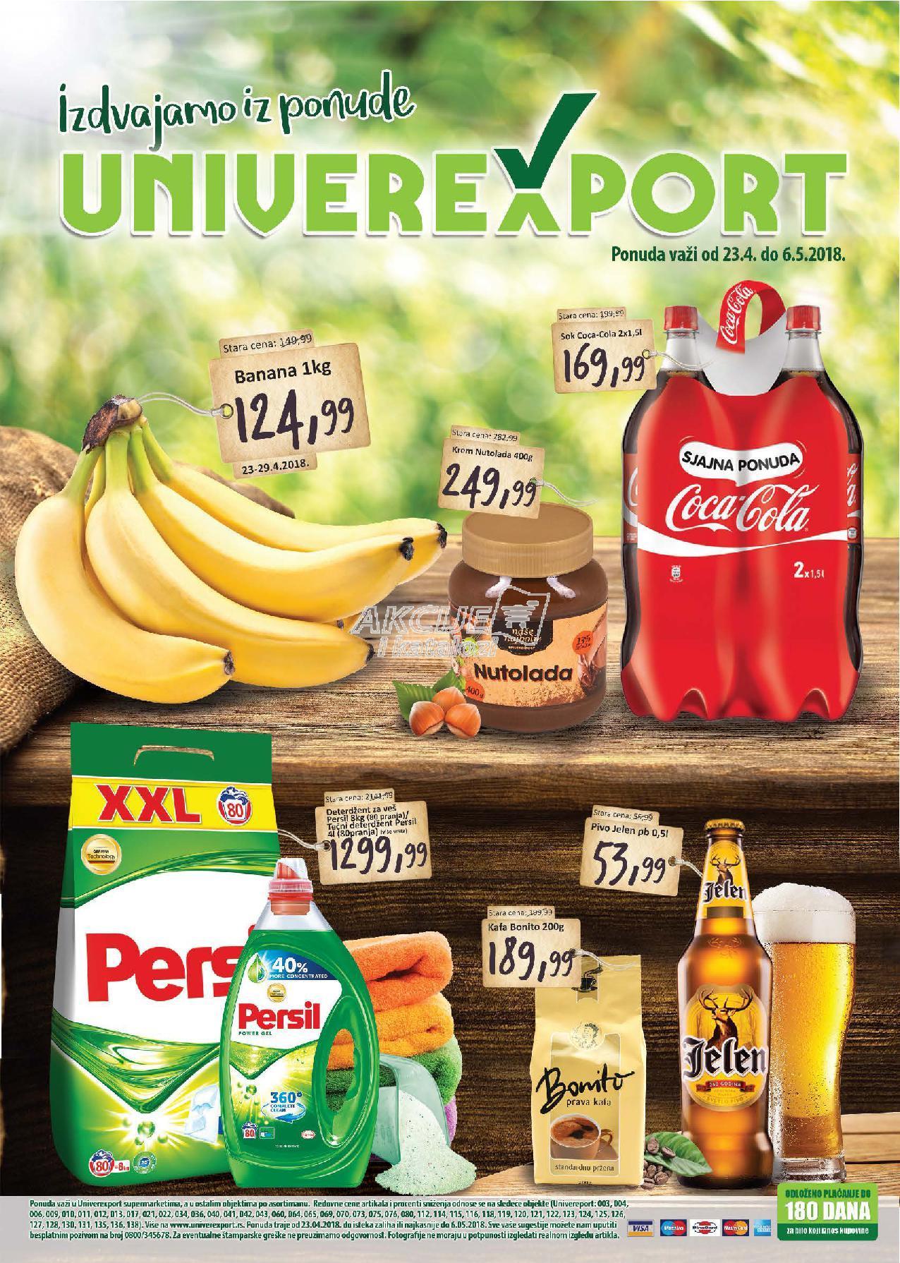 Univerexport - Redovna akcija odlične kupovine