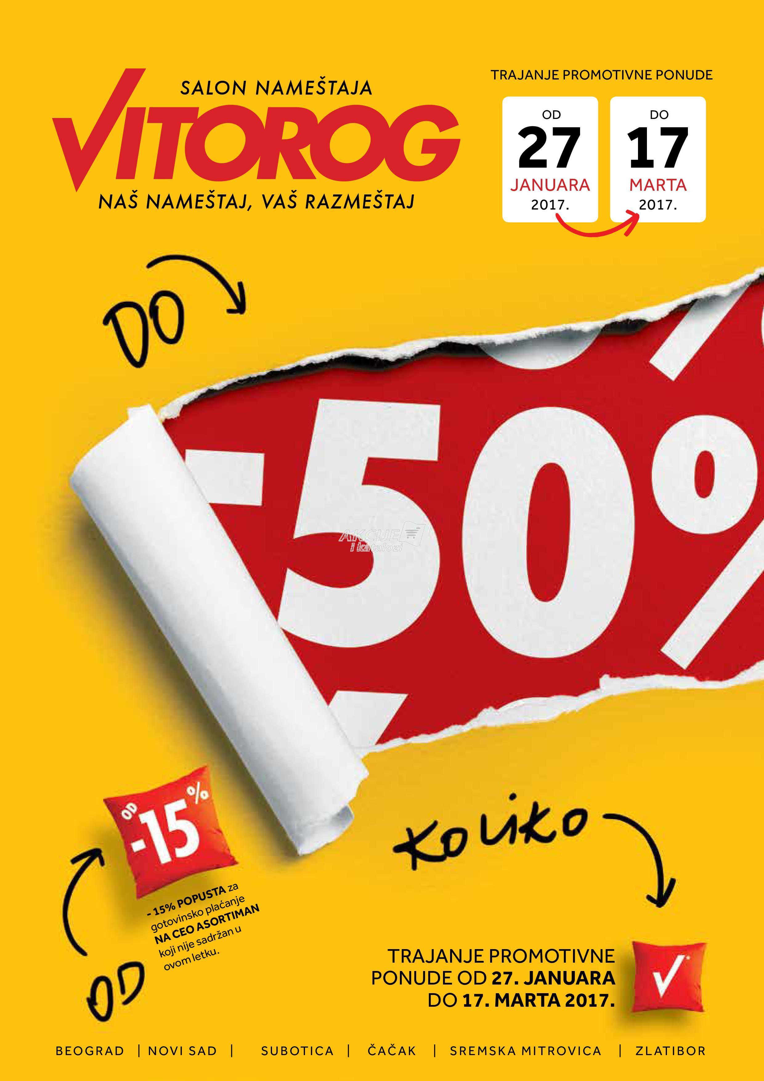 Vitorog - Redovna akcija odlične kupovine