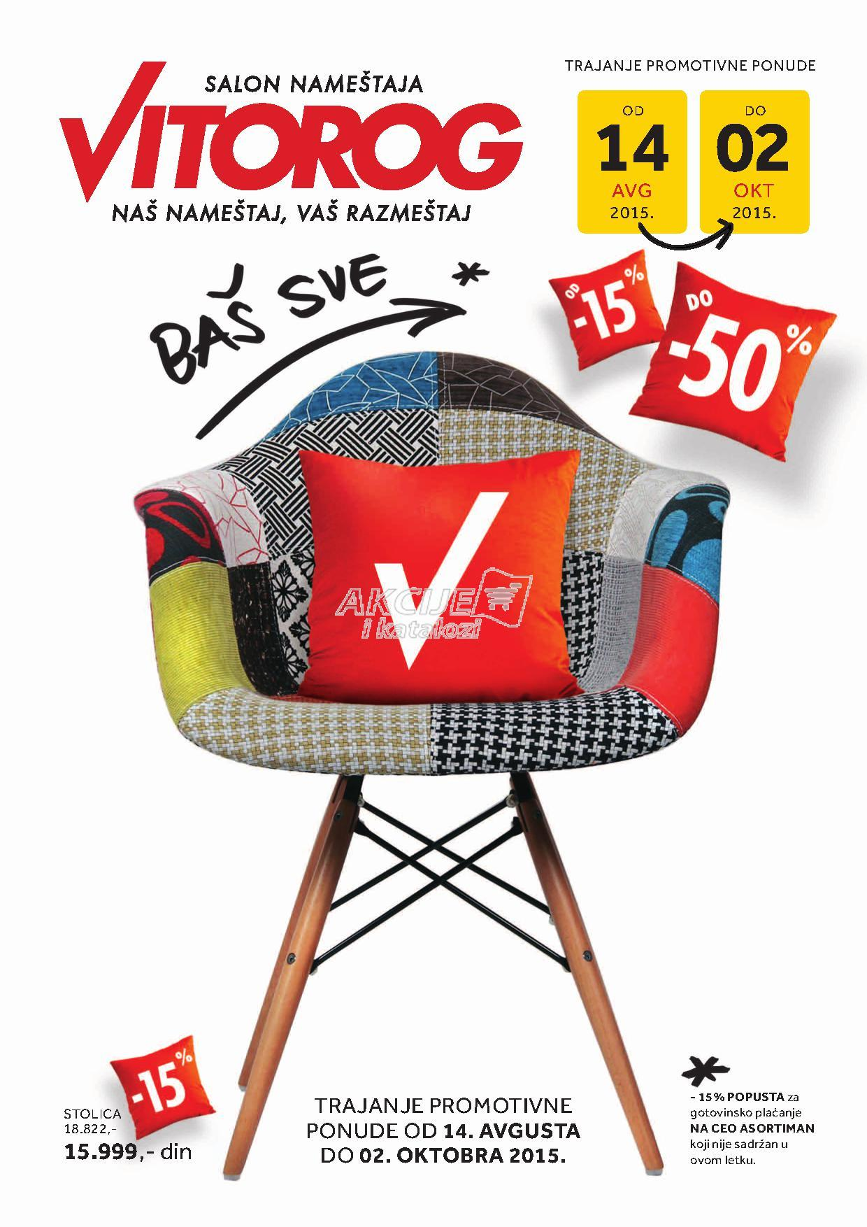 Vitorog - Redovna akcija odličnih cena