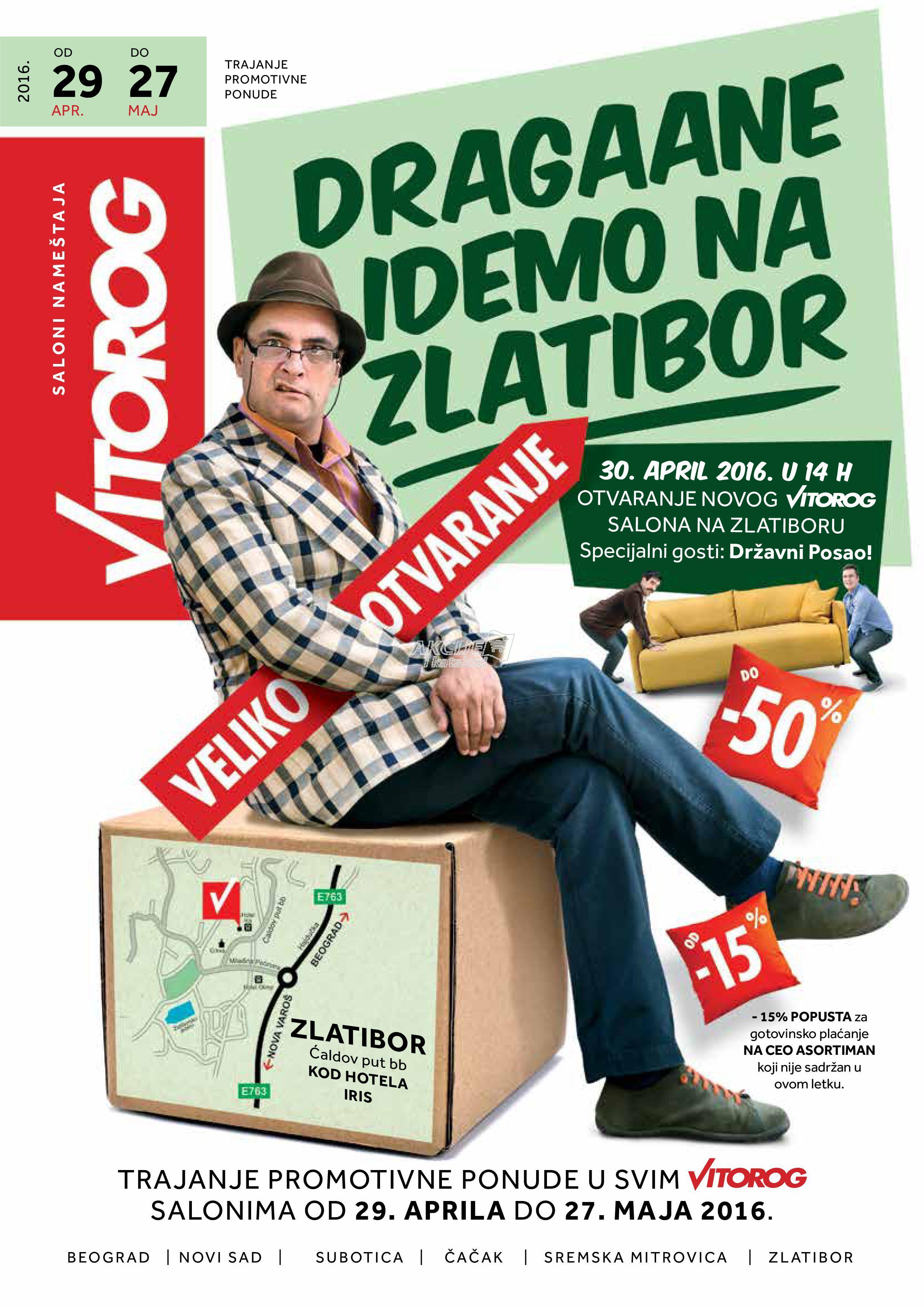 Vitorog - Redovna akcija super kupovine