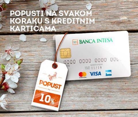 Plaćajte karticama i uštedite