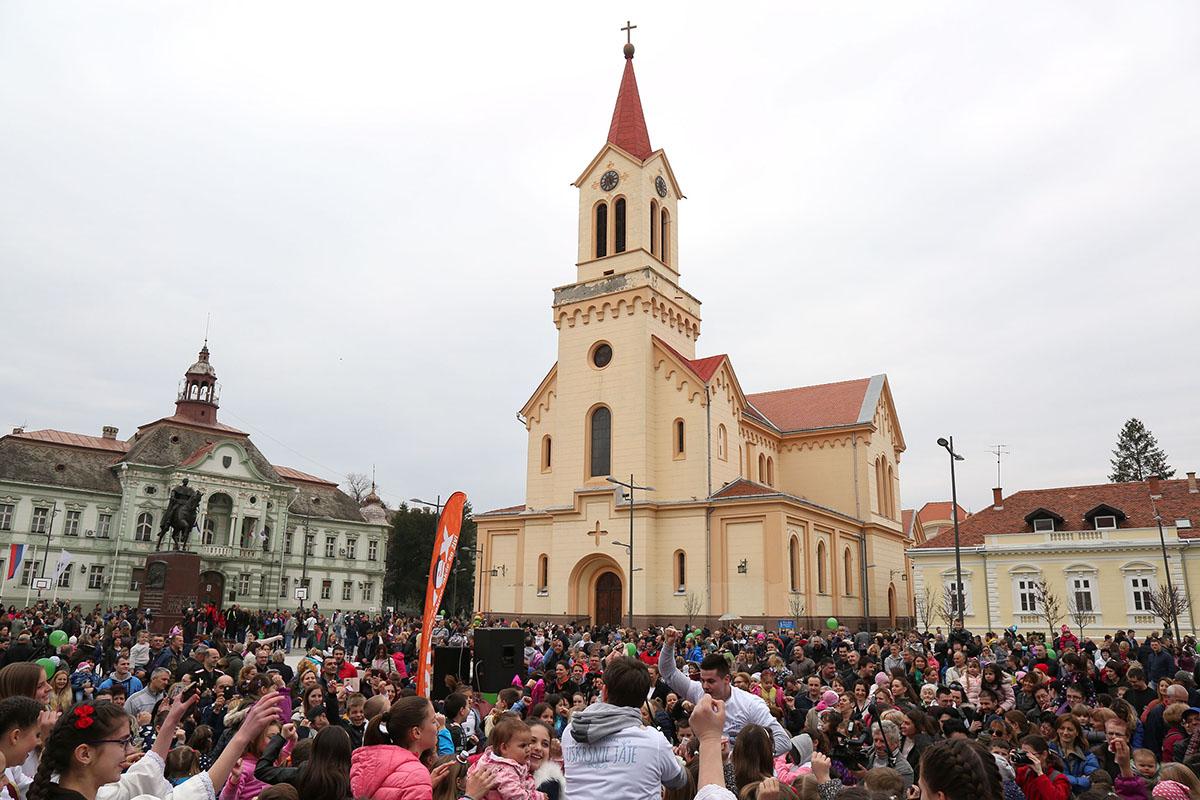 Tradicionalna podrška Uskršnjem festivalu u Zrenjaninu