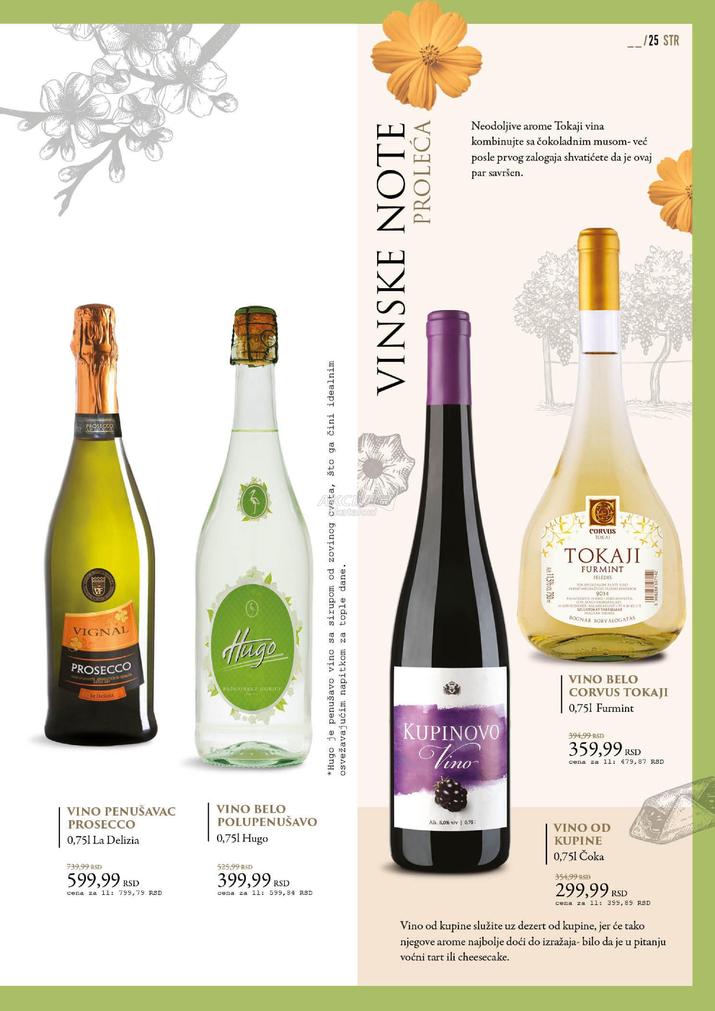 Idea akcija vina iz celog sveta