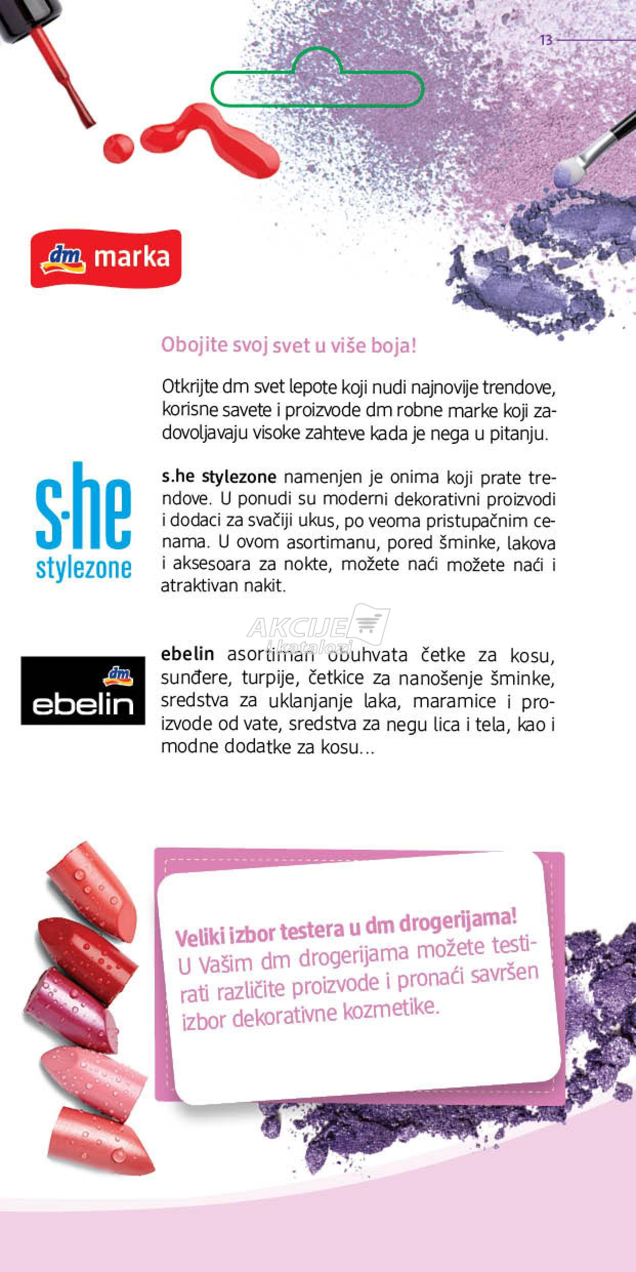DM akcija magazin