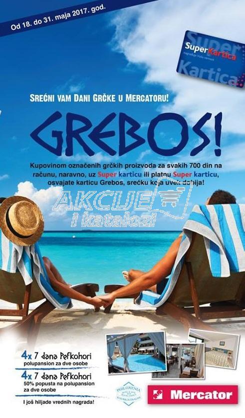 Mercator akcija dani Grčke