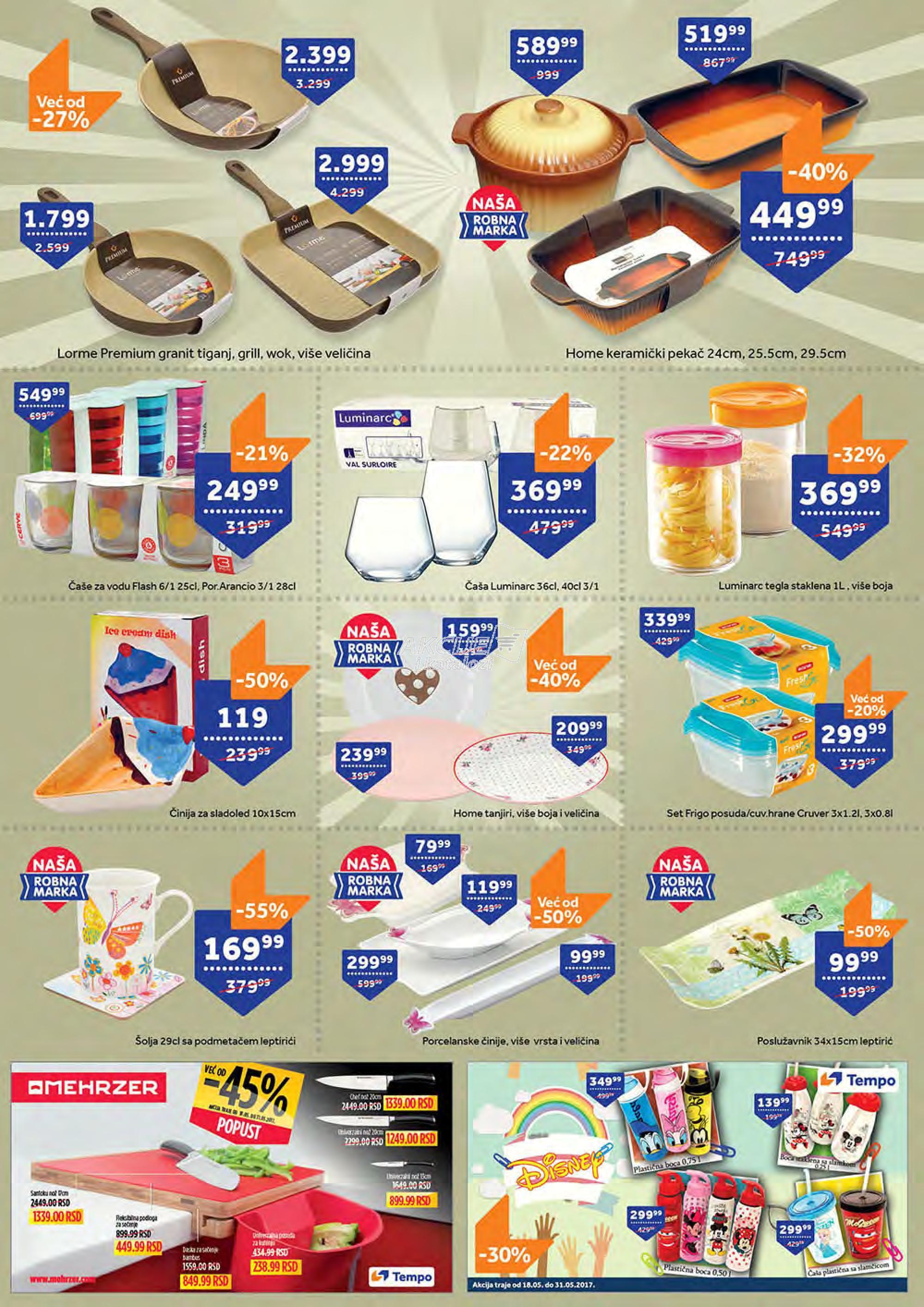 Tempo akcija odlične kupovine