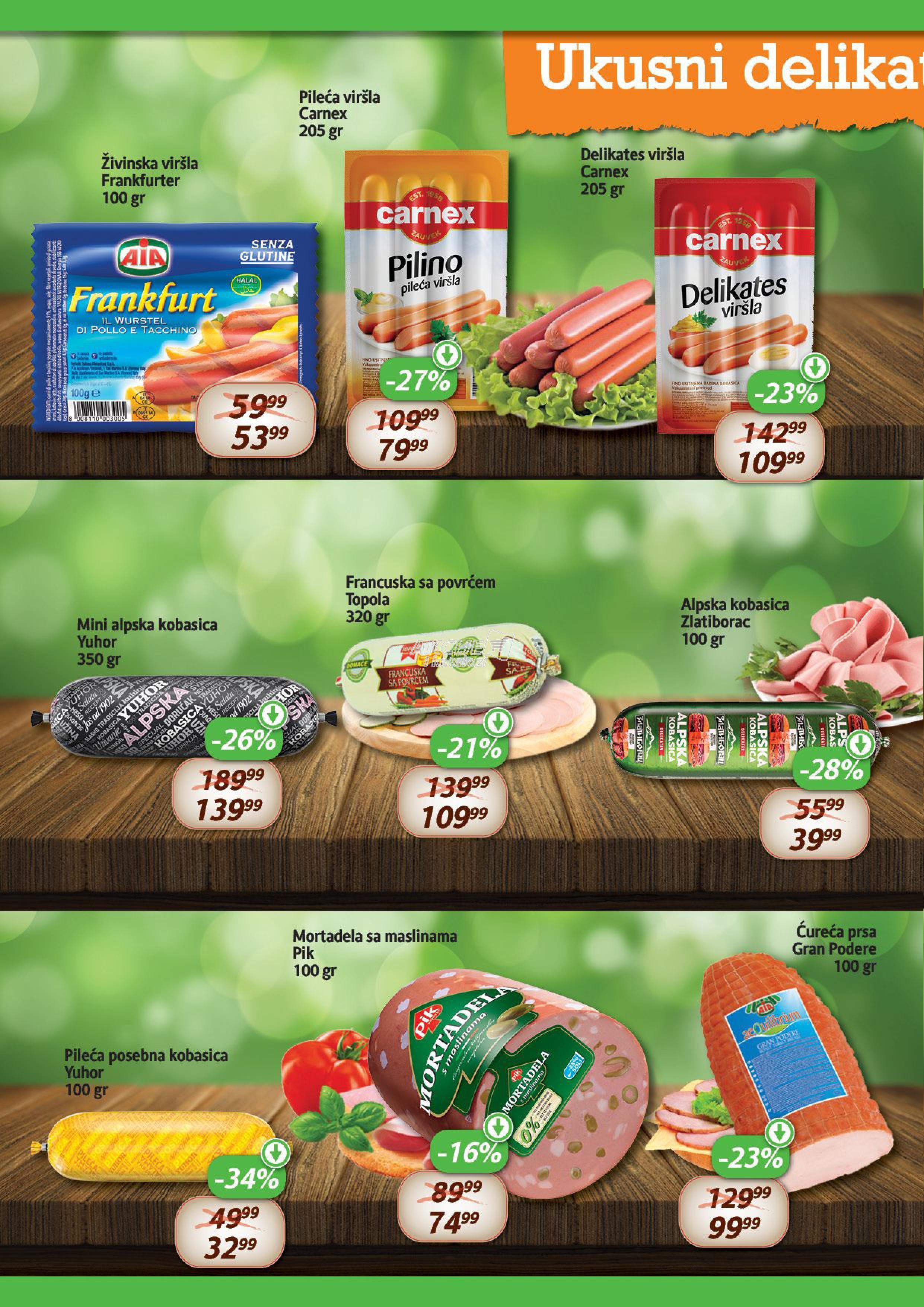 Aroma market akcija super cena