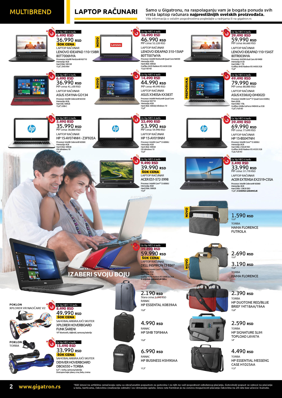 Gigatron akcija tehnike i računara