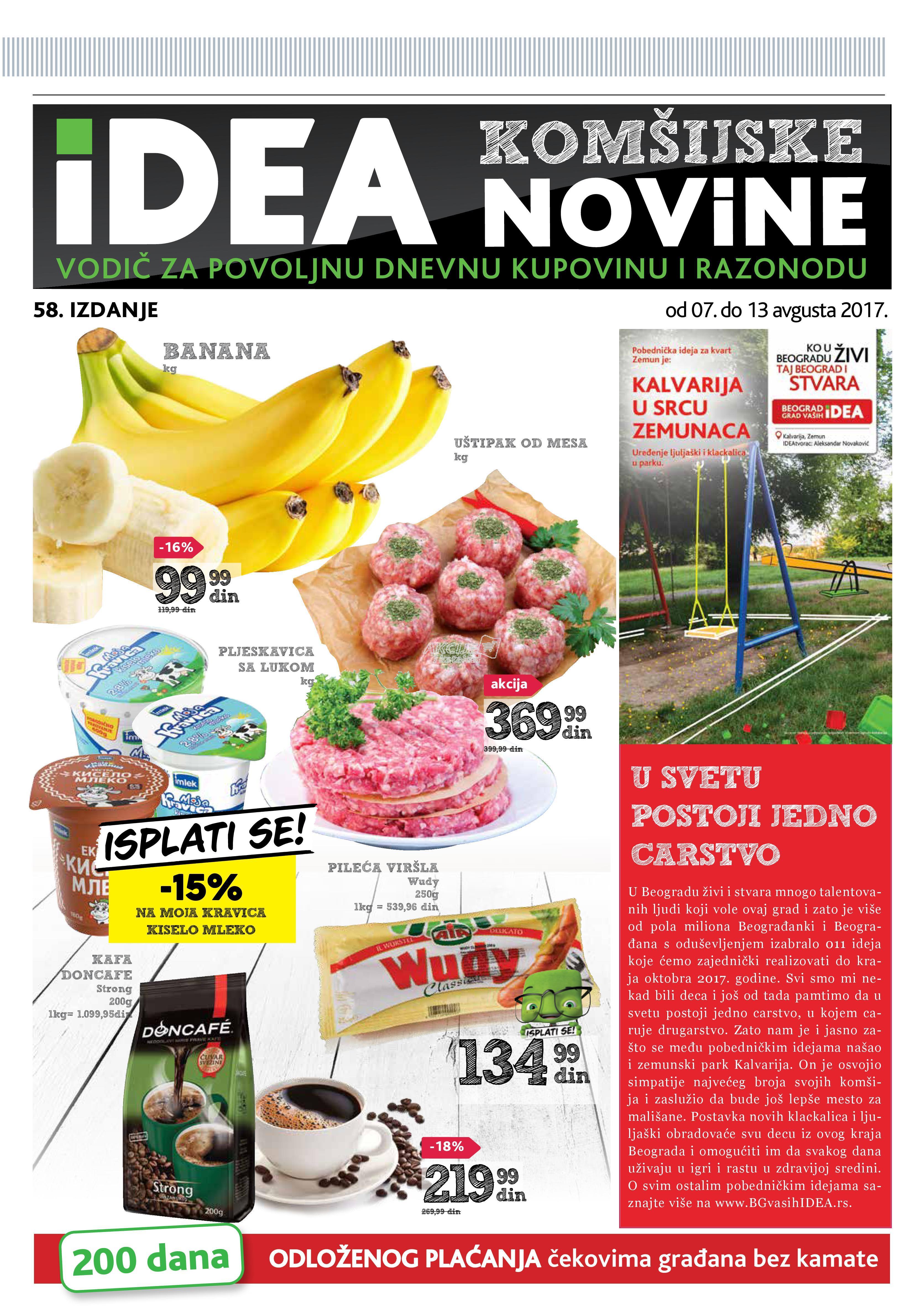 Idea akcija Beogradske komšijske novine
