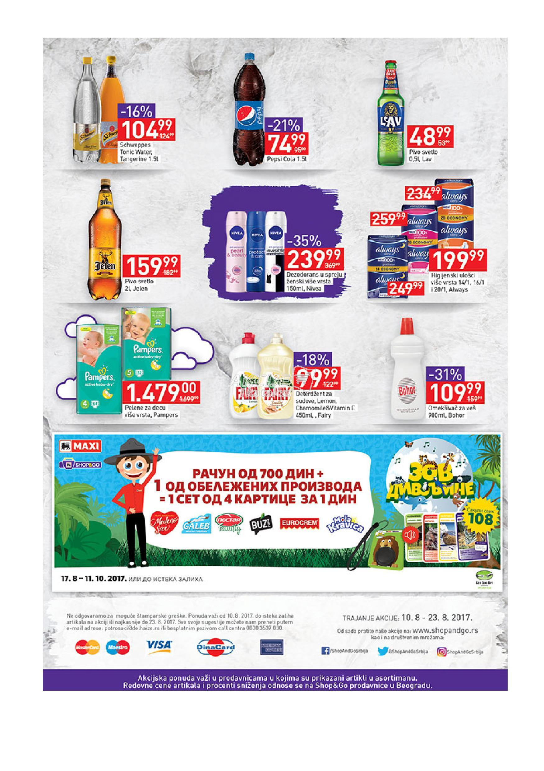 Maxi akcija super kupovine