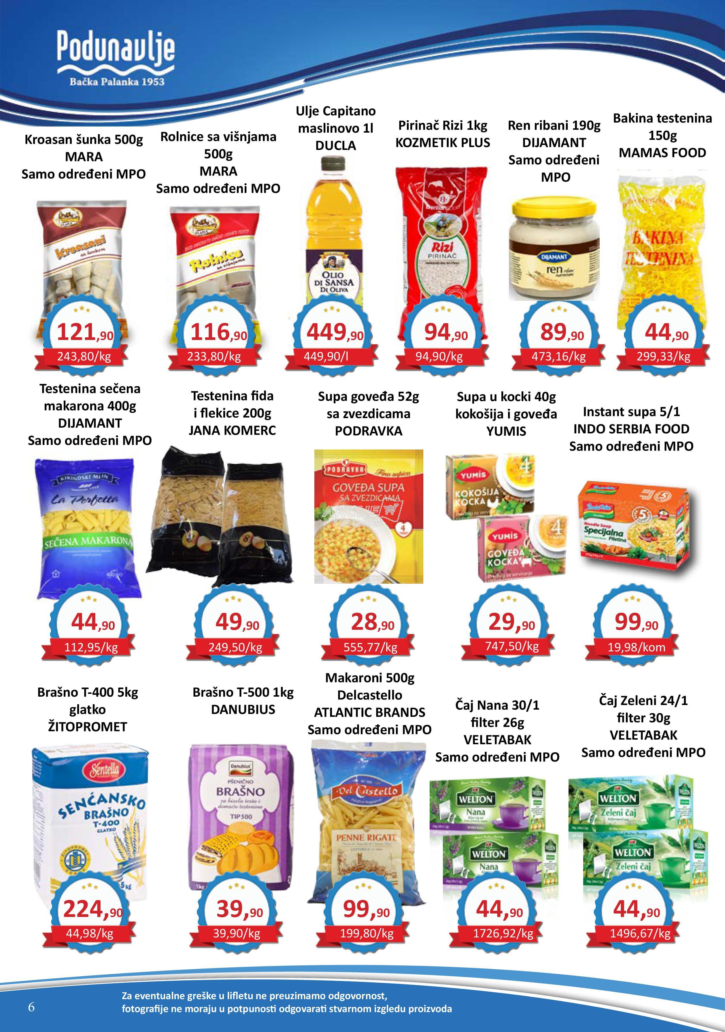 AD Podunavlje akcija super kupovine