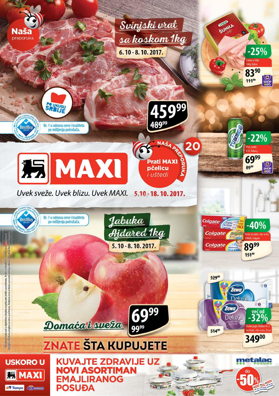 Maxi akcija odlične kupovine