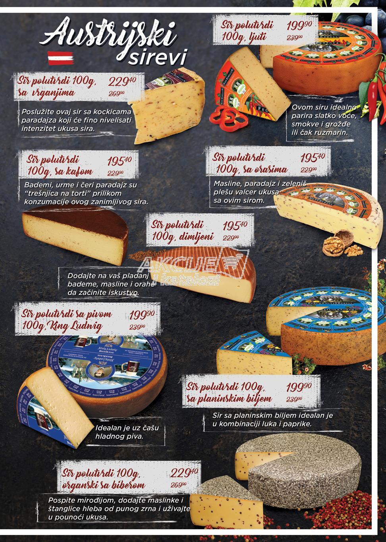 Maxi akcija raskošni ukusi svetskih sireva