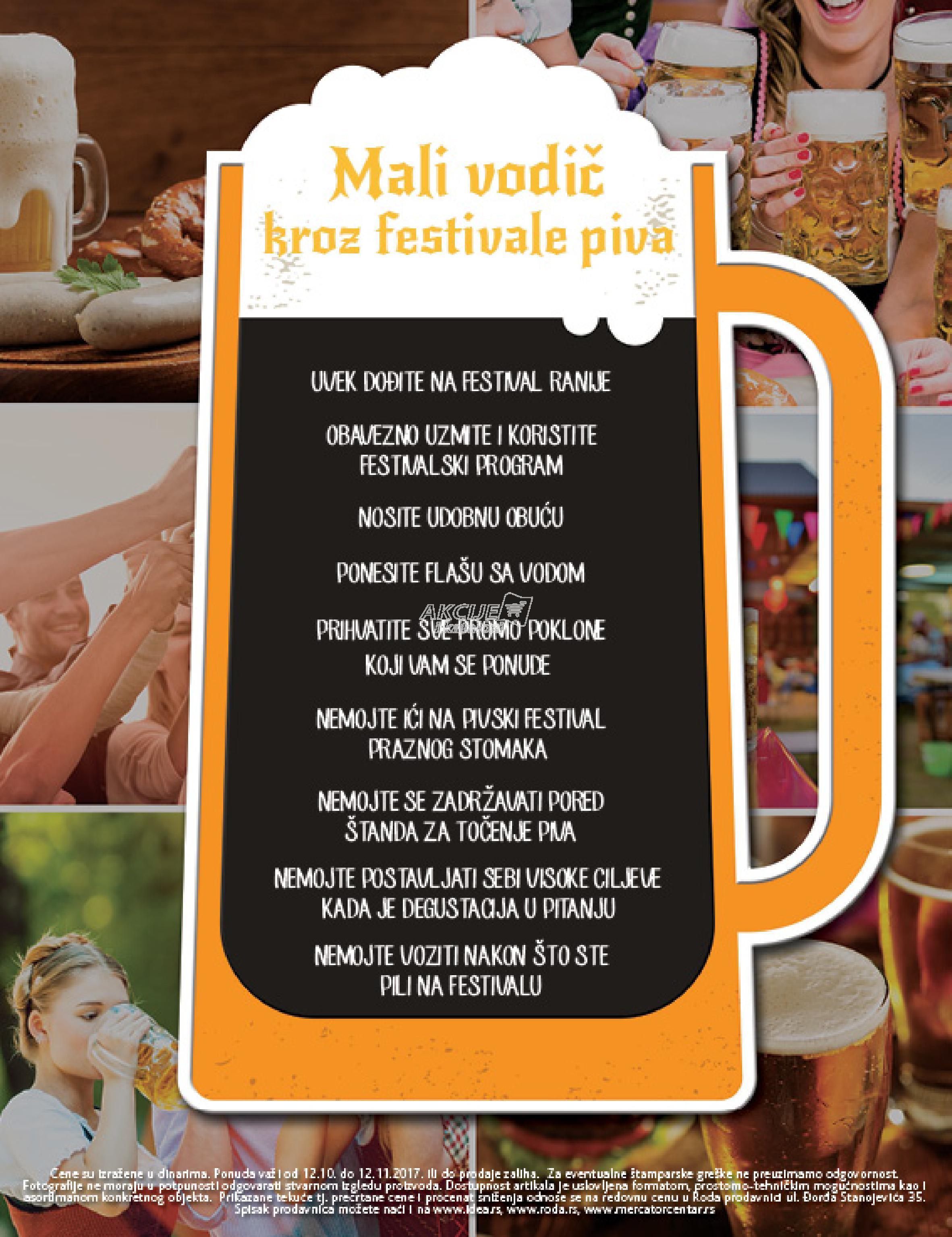 Roda akcija festival piva