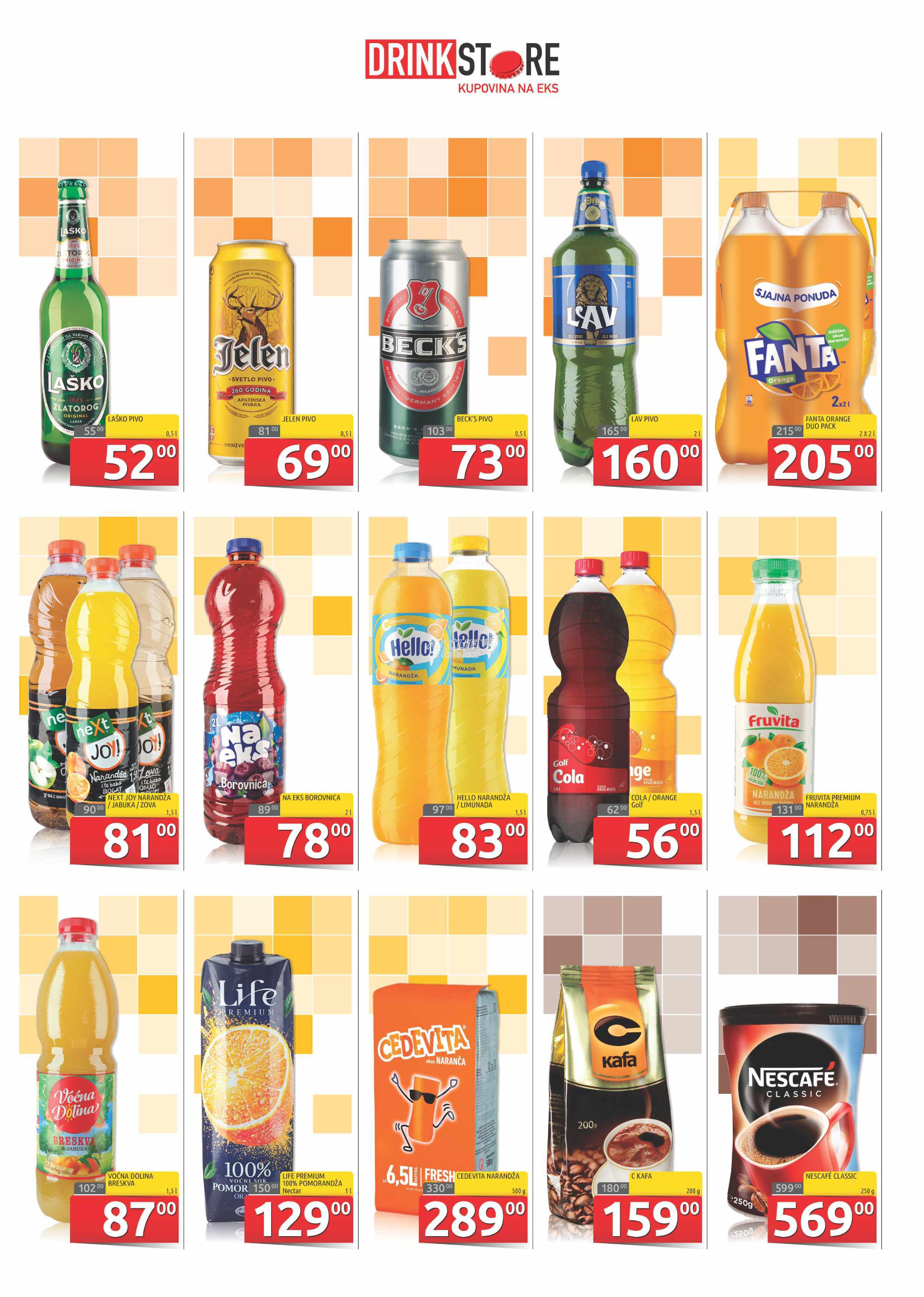 Drink Store akcija super kupovine