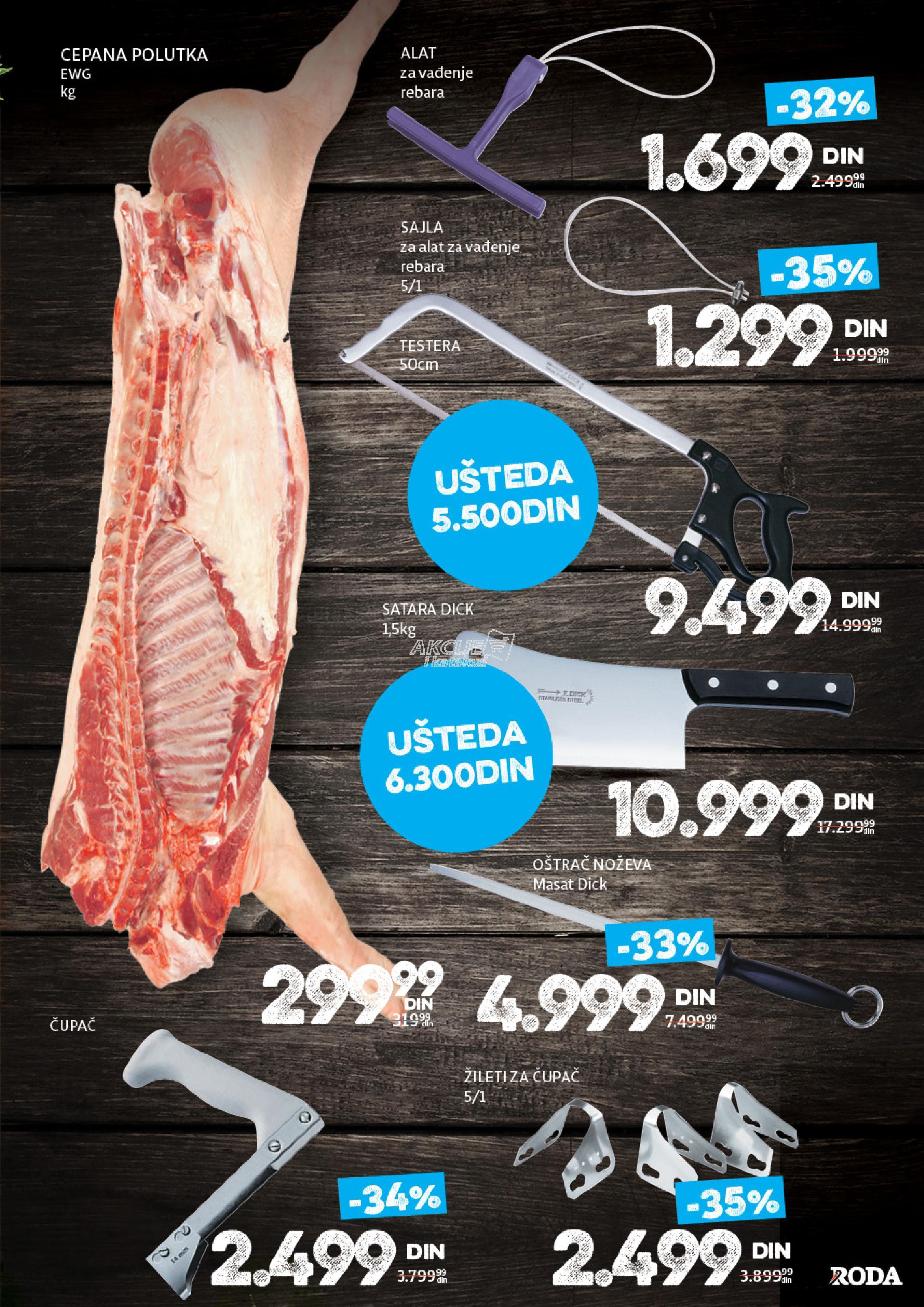 Roda akcija sve za sušenje mesa