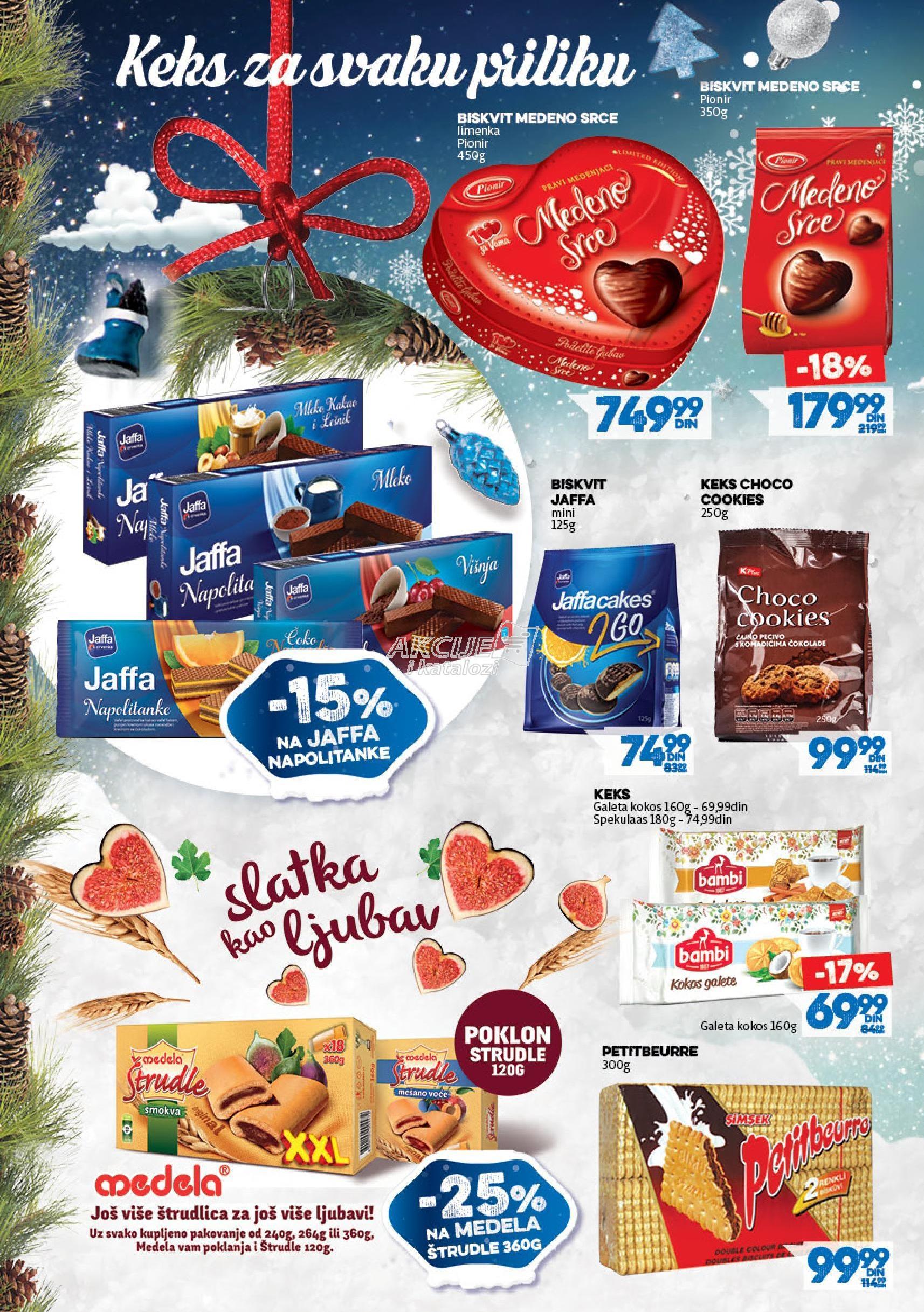 Roda akcija novogodišnjih igračaka i slatkiša