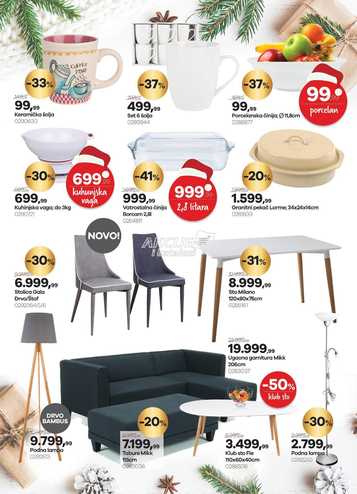 Home Plus akcija jelke na vreme u pola cene