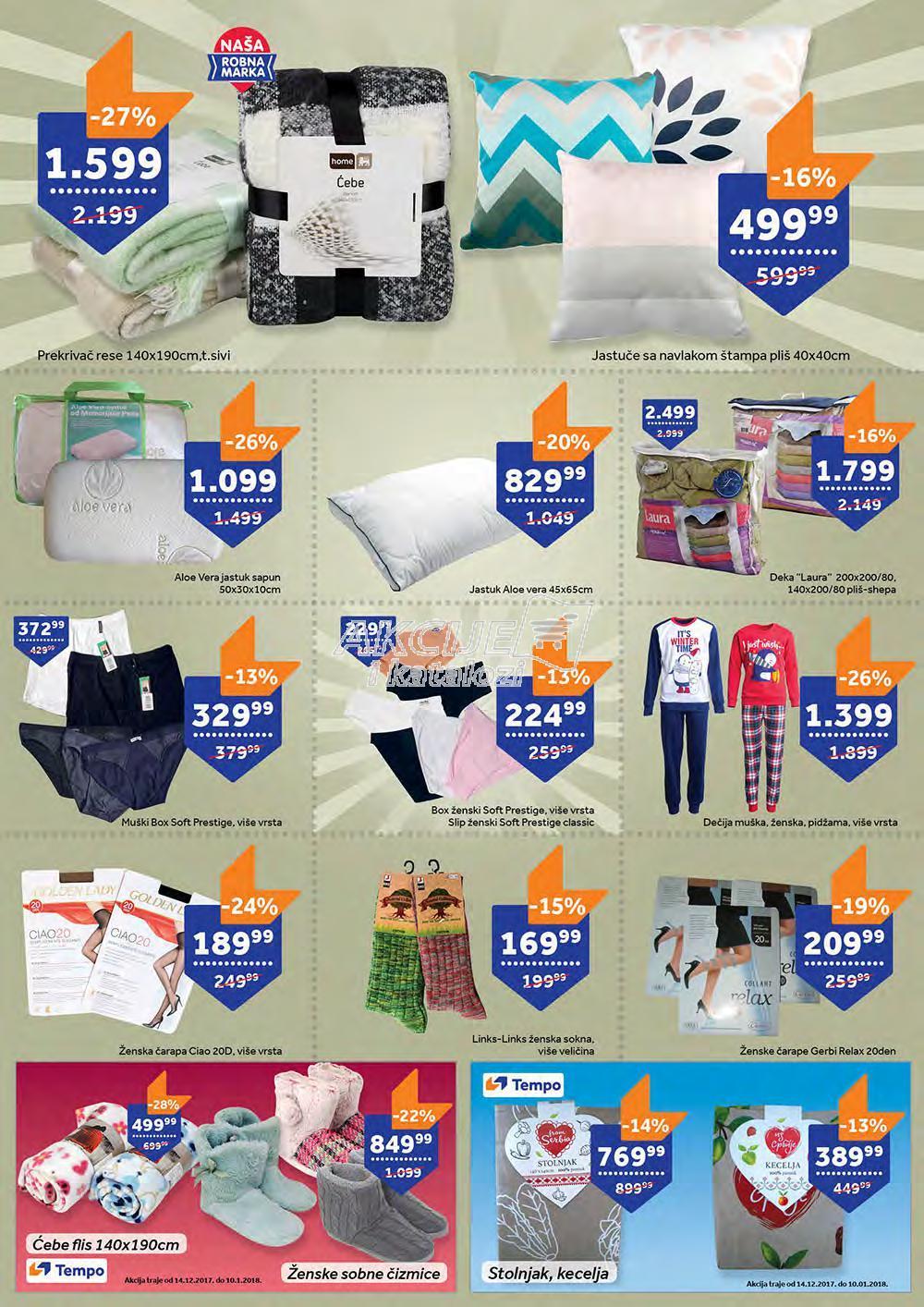 Tempo akcija novogodišnje kupovine