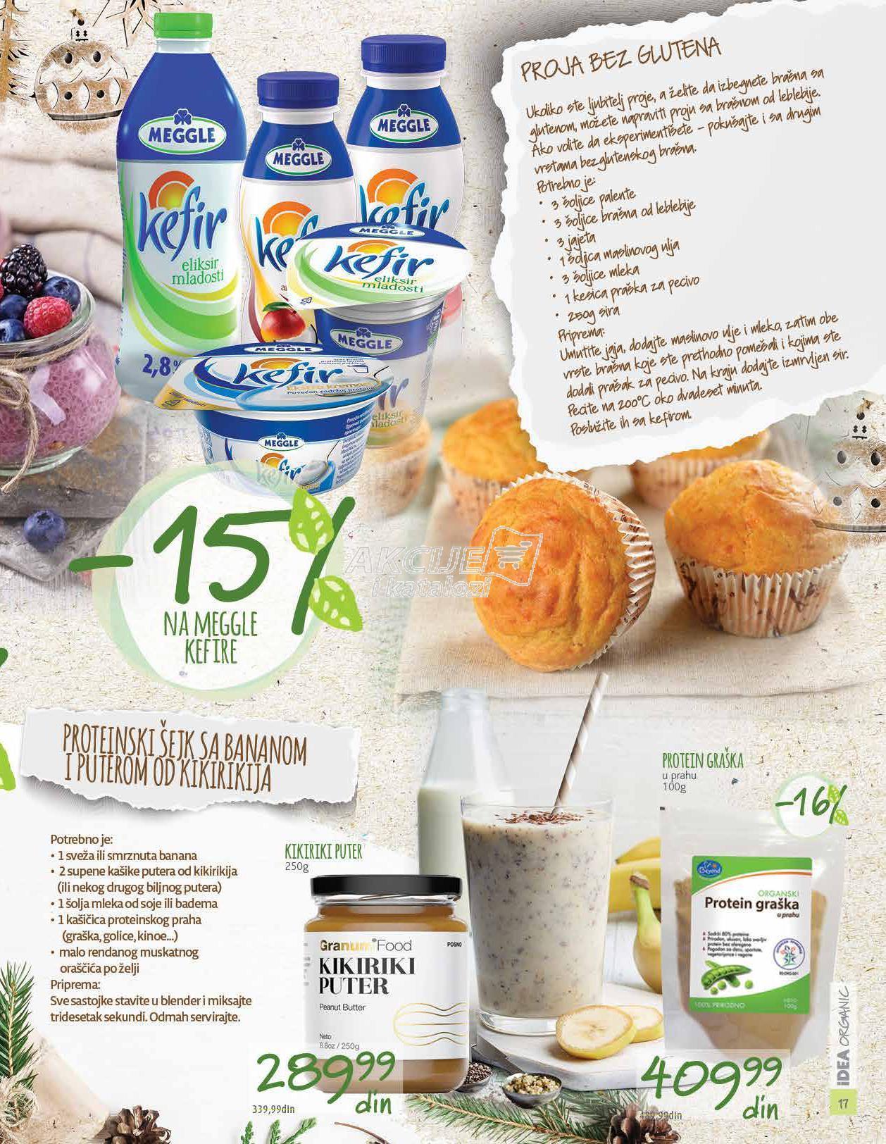 Idea Organic akcija praznične kupovine