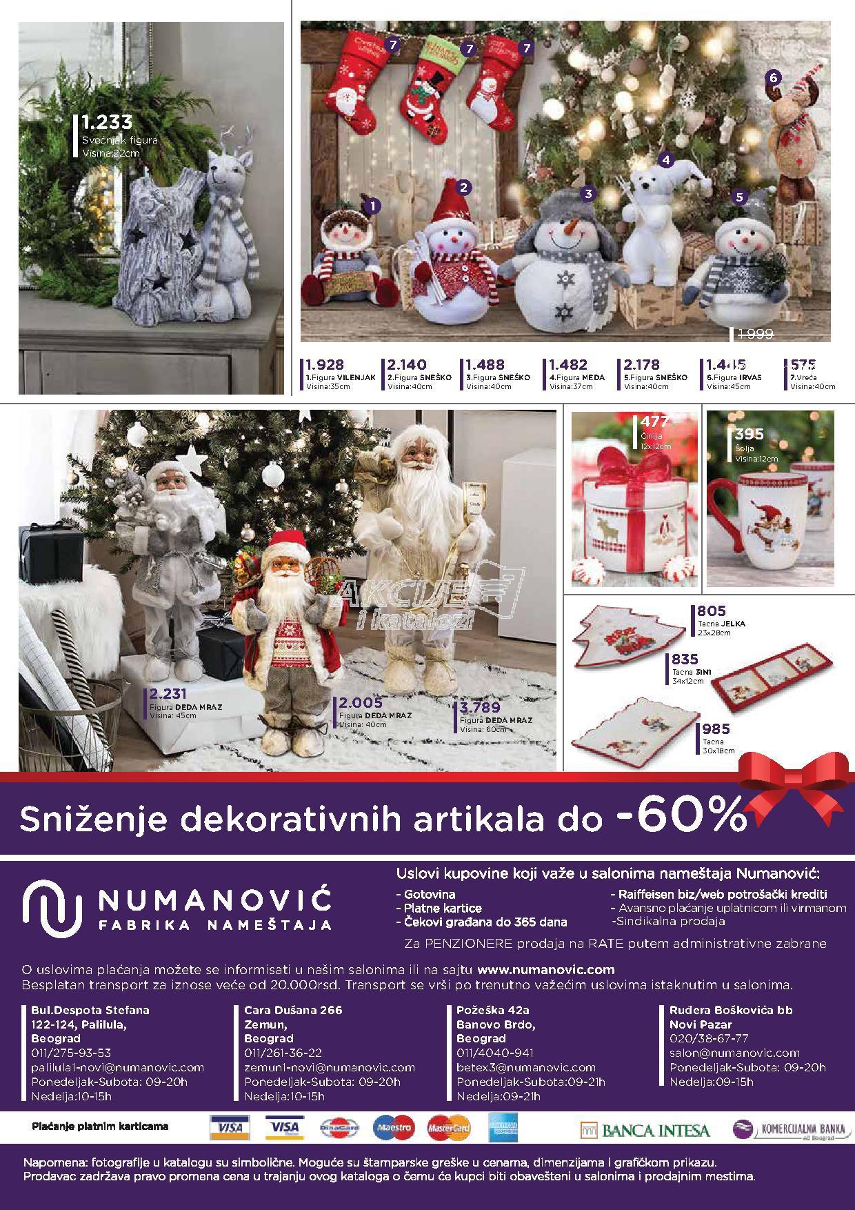 Numanović akcija novogodišnje kupovine