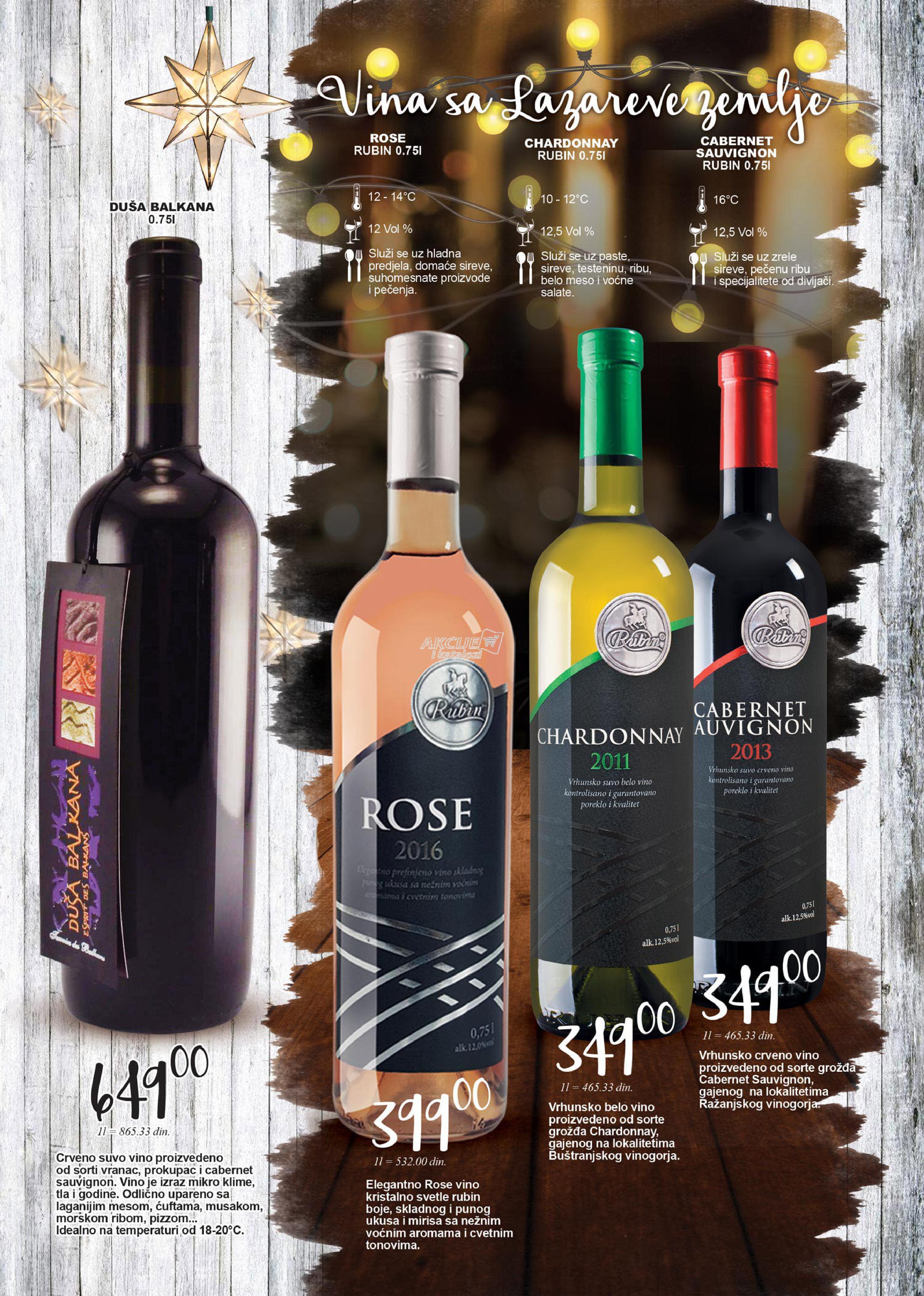 Aman akcija super cene vina